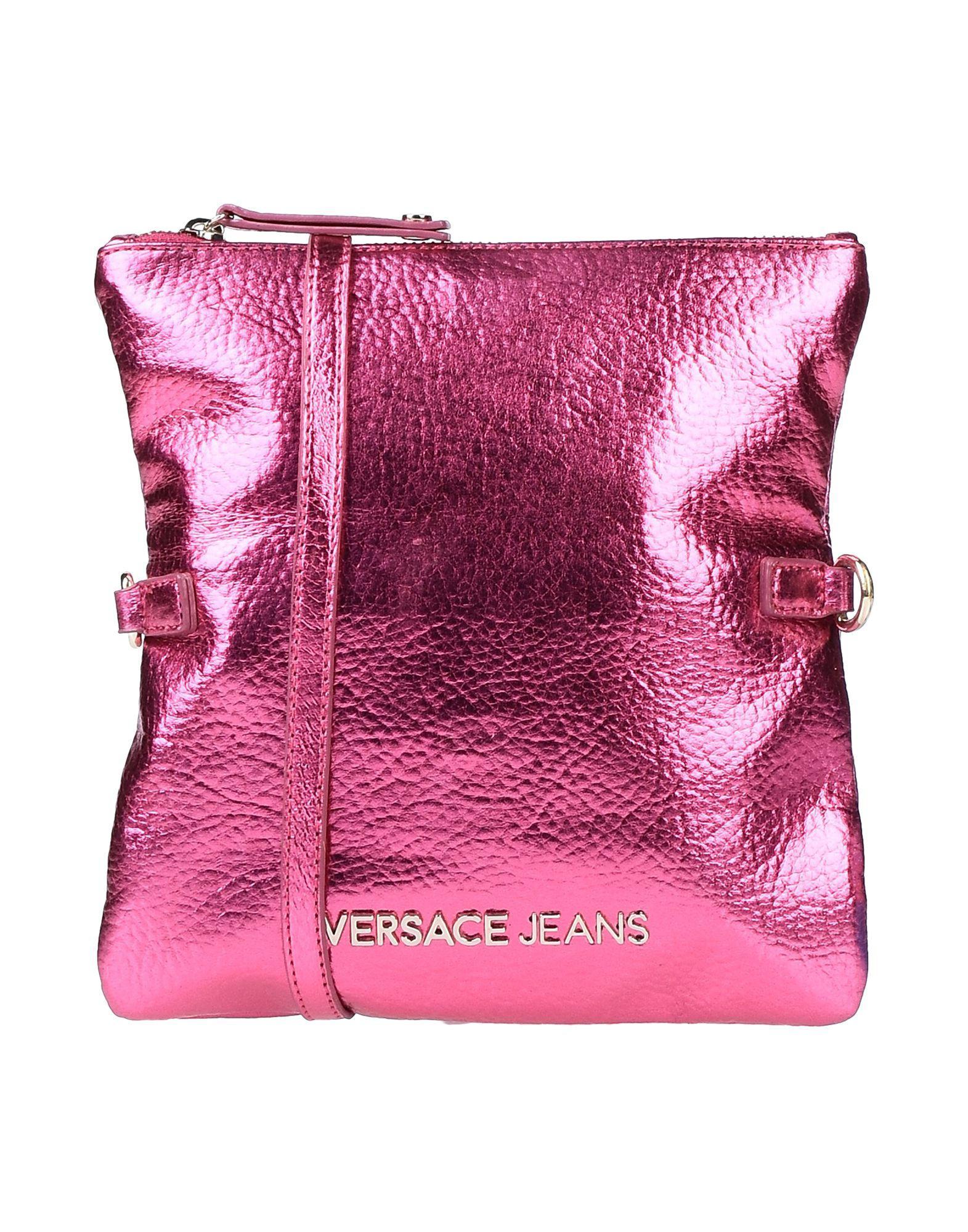 6628952f77 Versace Jeans - Pink Cross-body Bag - Lyst. View fullscreen