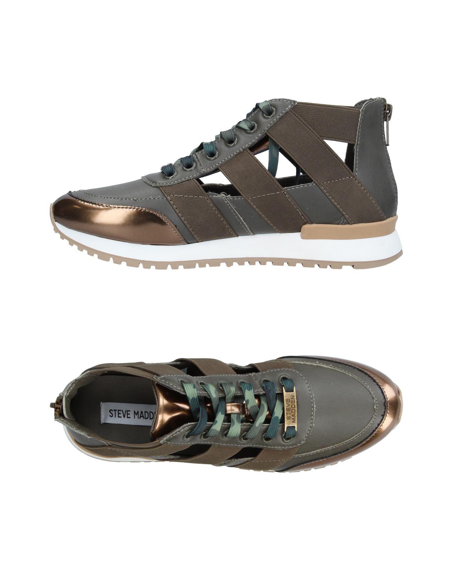 c612f1fd2b8 Steve Madden - Green Low-tops   Sneakers - Lyst. View fullscreen