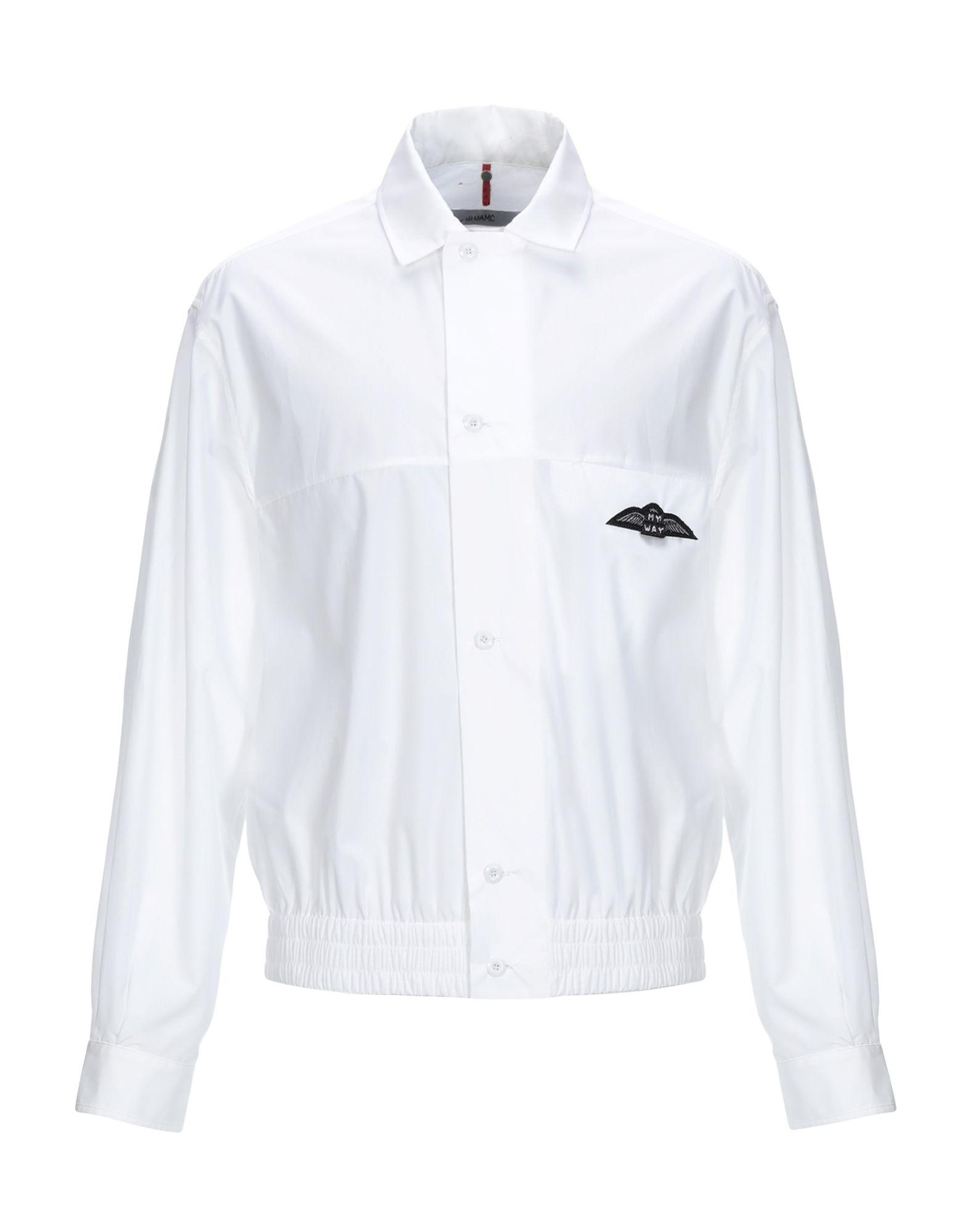 30a4dbac2b61d Lyst - OAMC Shirt in White for Men