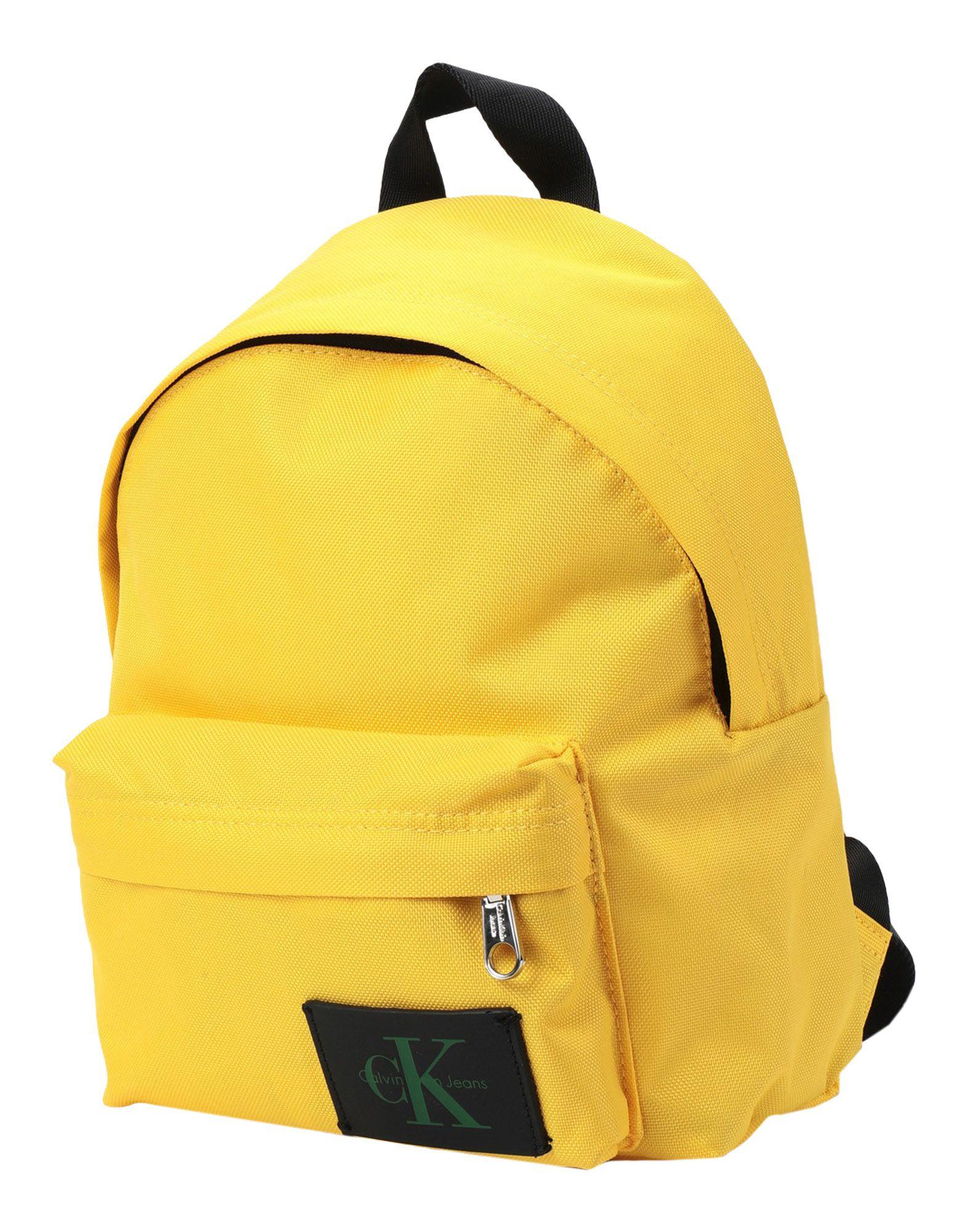 6366b6a4cb16a Calvin Klein Backpacks   Bum Bags in Yellow for Men - Lyst