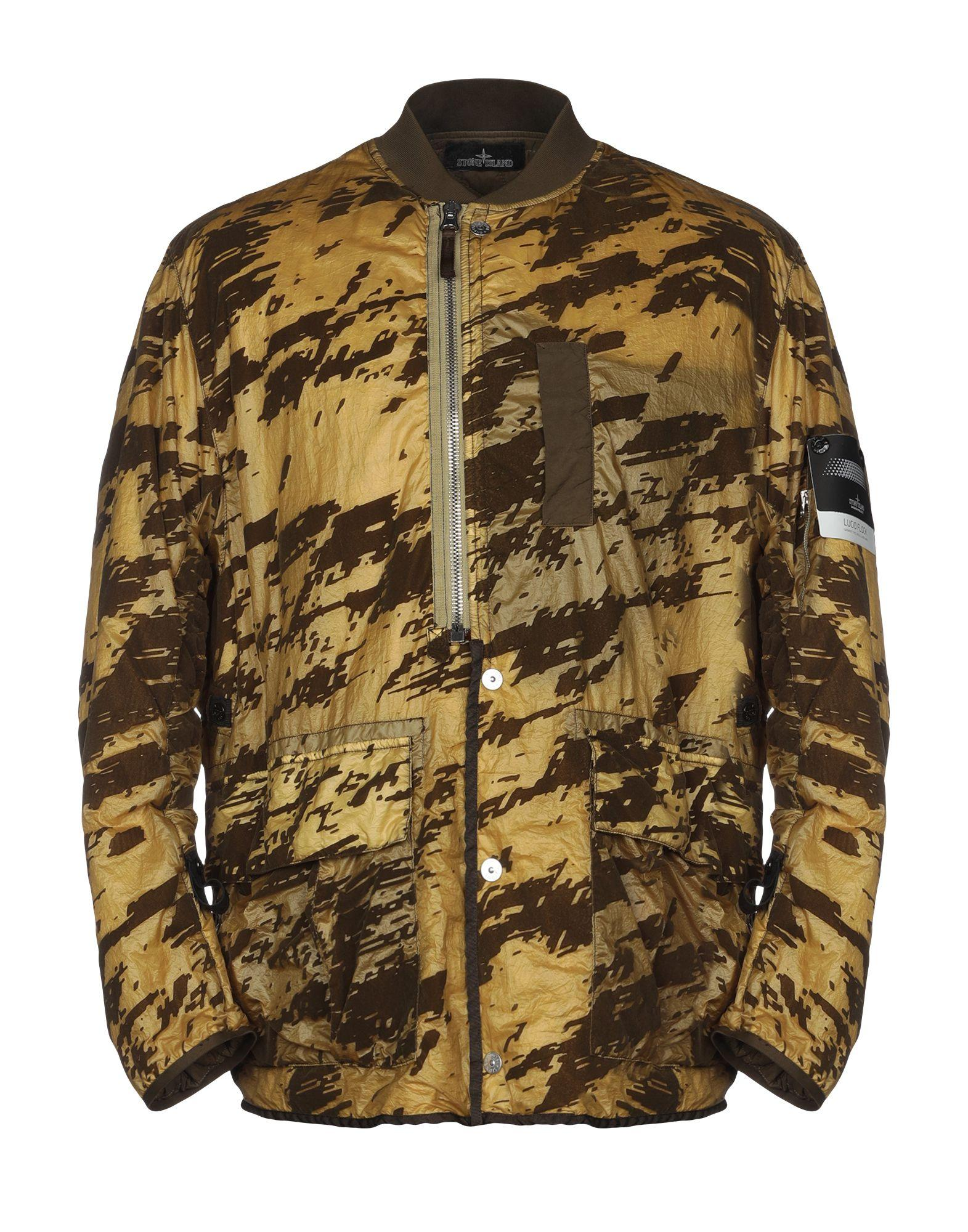 0ce8ee3286332 Stone Island Shadow Project Jacket in Green for Men - Lyst