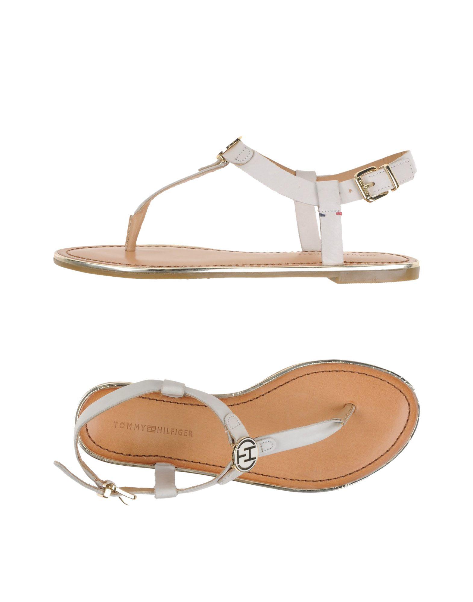 Cool Tommy Hilfiger Lorine Womens Sandal Low Heel Shoes Flat Heel  EBay