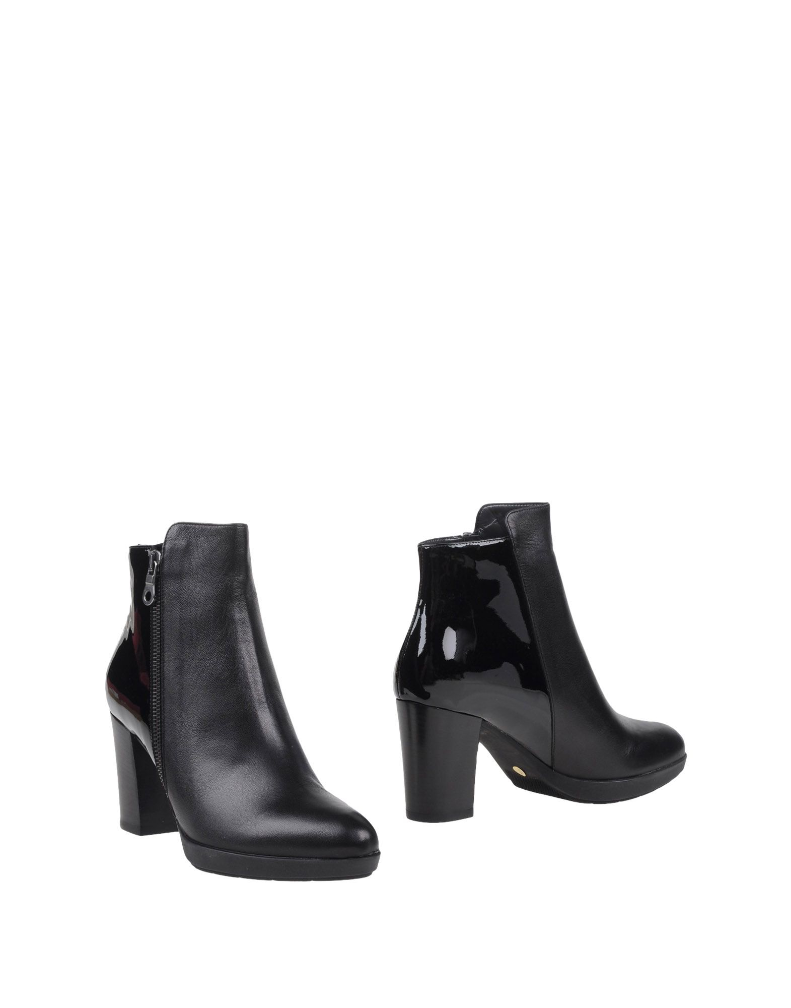 versace ankle boots in black lyst