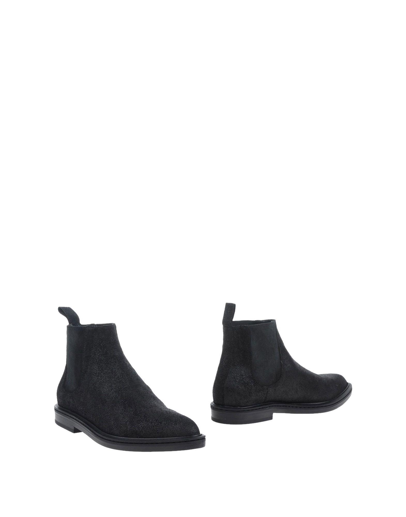 a ankle boots in black for men lyst. Black Bedroom Furniture Sets. Home Design Ideas