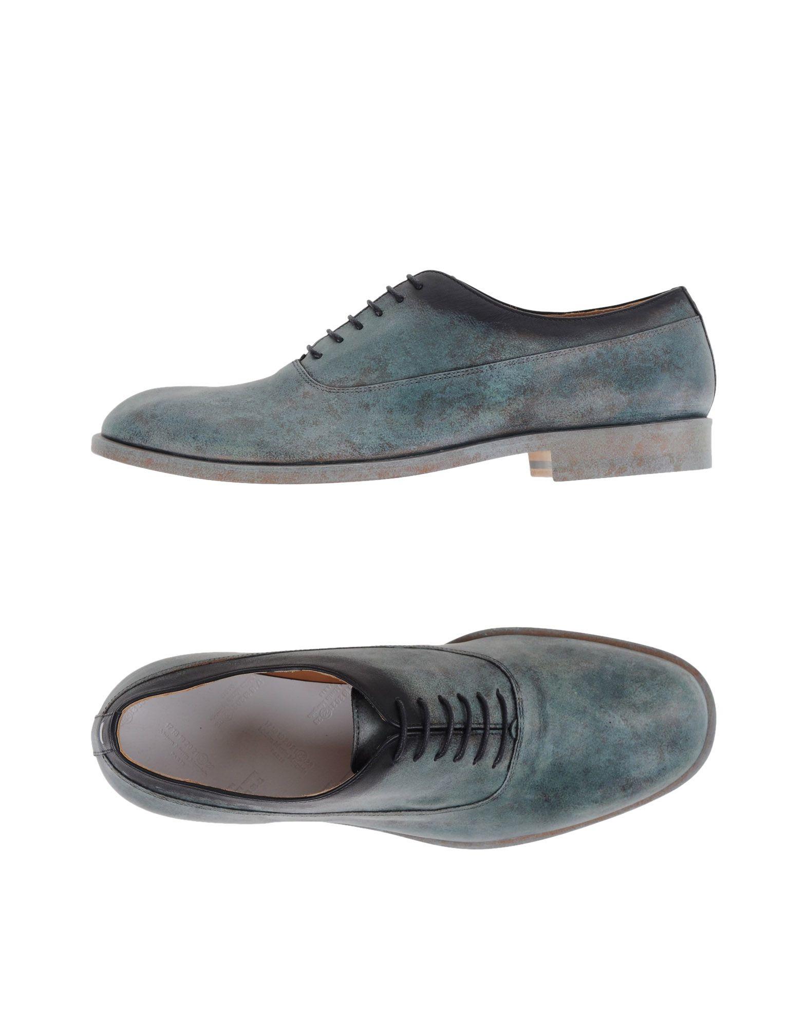 maison margiela lace up shoe for men lyst. Black Bedroom Furniture Sets. Home Design Ideas
