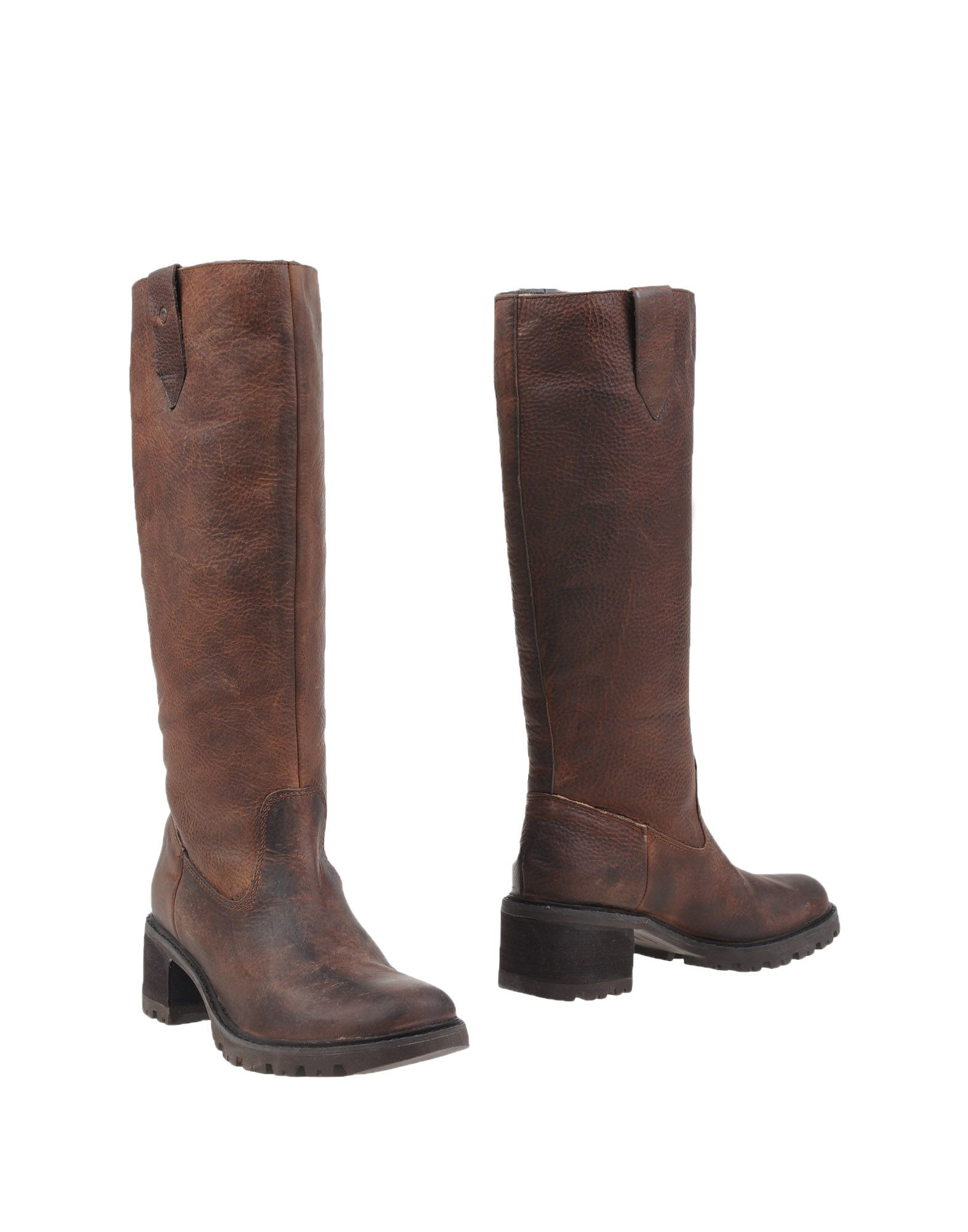 rockport boots in brown brown lyst