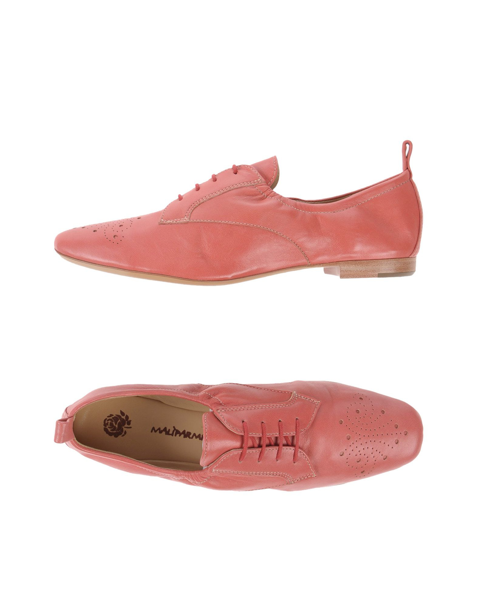 maliparmi lace up shoe in pink lyst