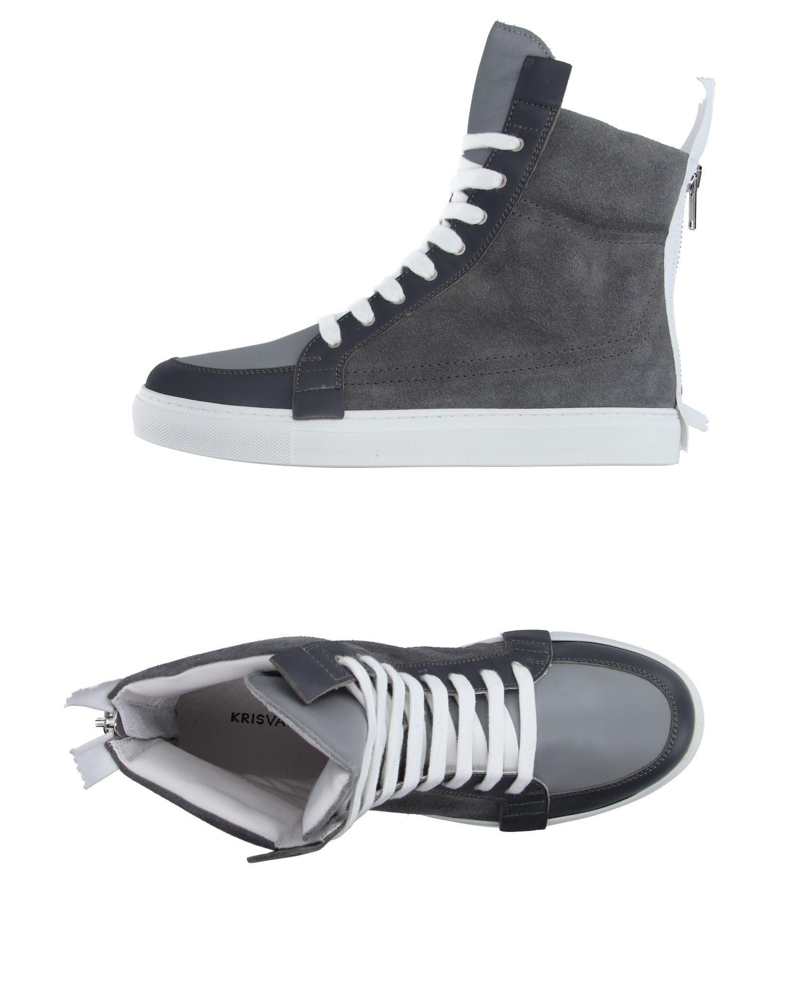 dad07e5aa969b7 Lyst - Kris Van Assche High-tops   Trainers in Gray for Men