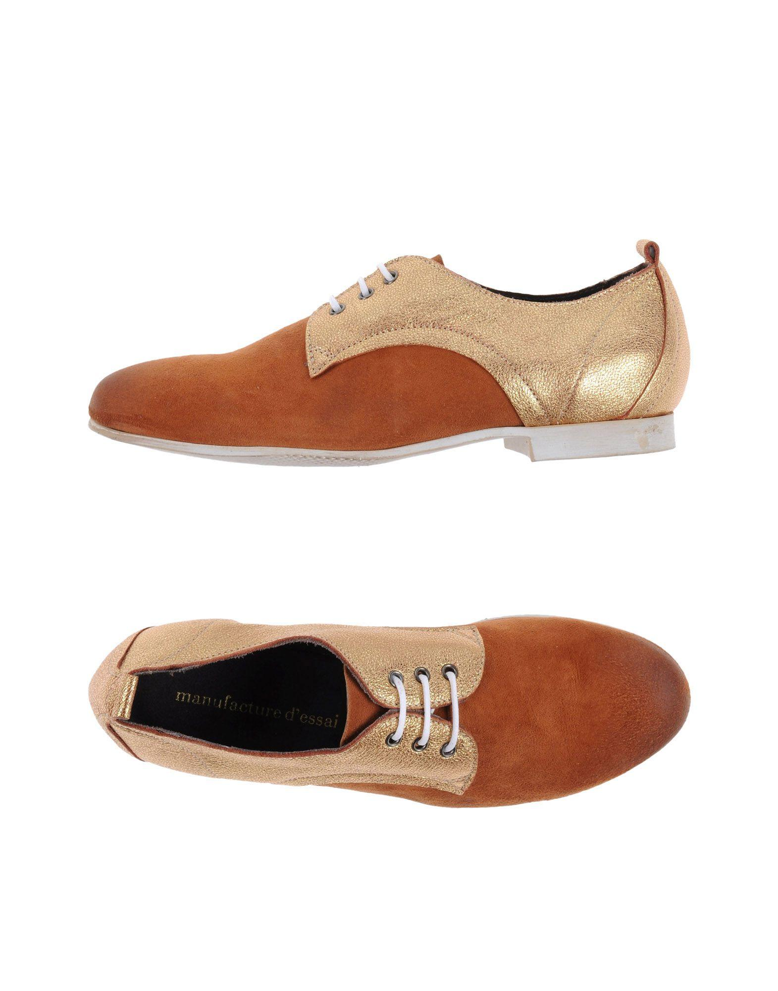 FOOTWEAR - Lace-up shoes on YOOX.COM Manufacture d'Essai gFvXz
