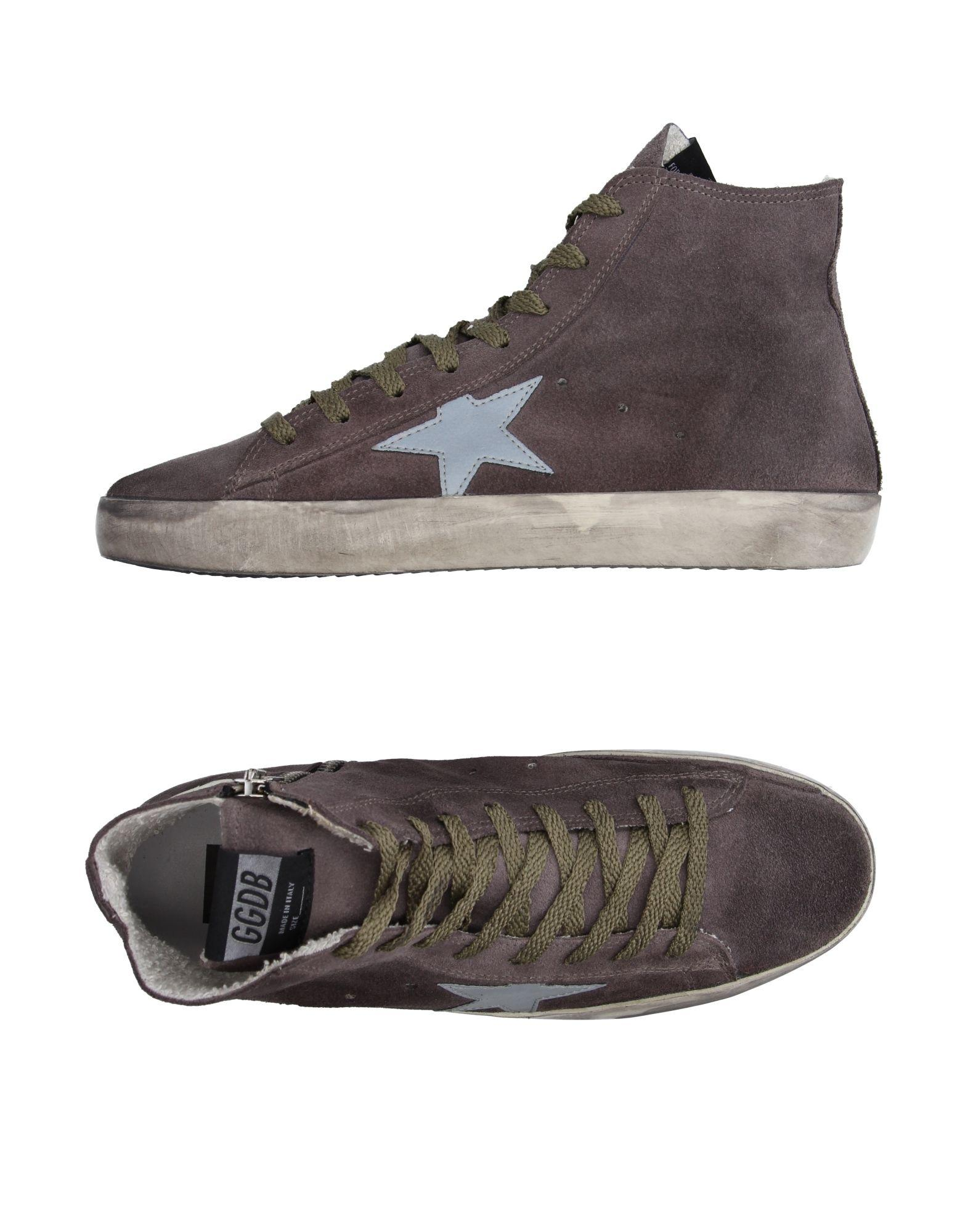 golden goose deluxe brand high tops sneakers in gray lyst. Black Bedroom Furniture Sets. Home Design Ideas