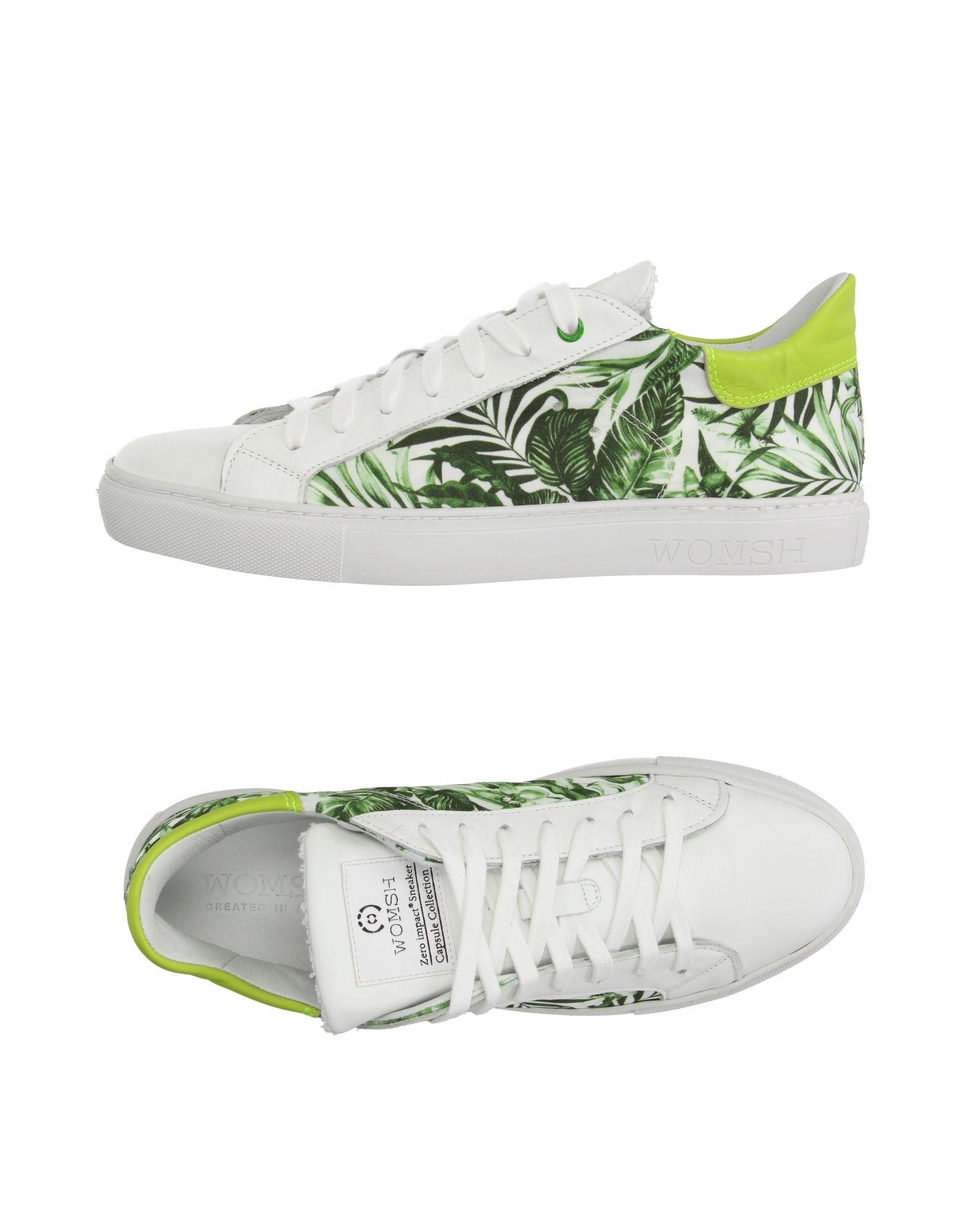 womsh low tops sneakers in white for lyst