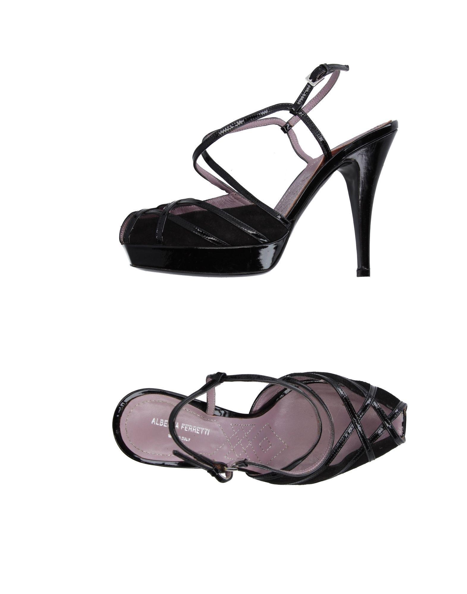 5181561847e0 Alberta ferretti Sandals in Black