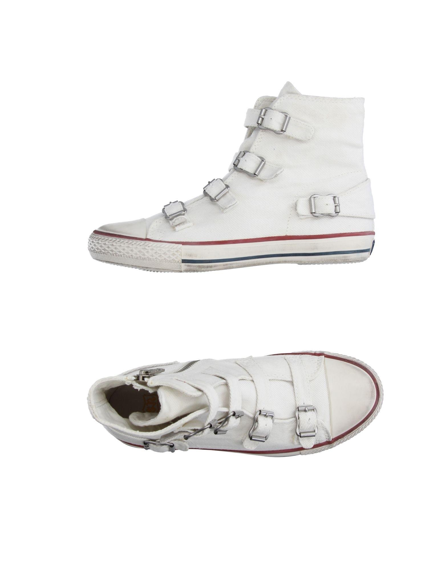 ash high tops sneakers in white lyst. Black Bedroom Furniture Sets. Home Design Ideas