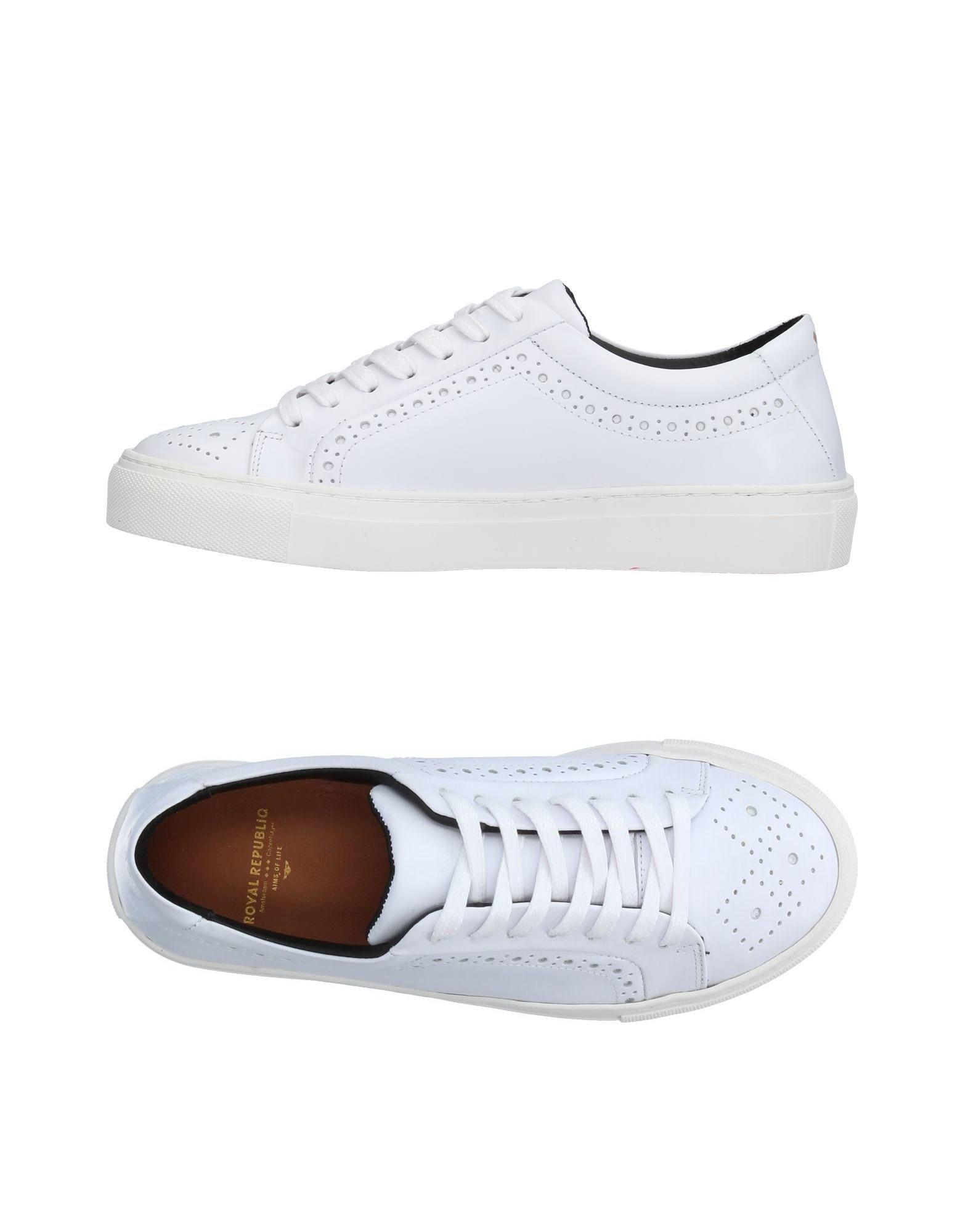royal republiq low tops sneakers in white lyst