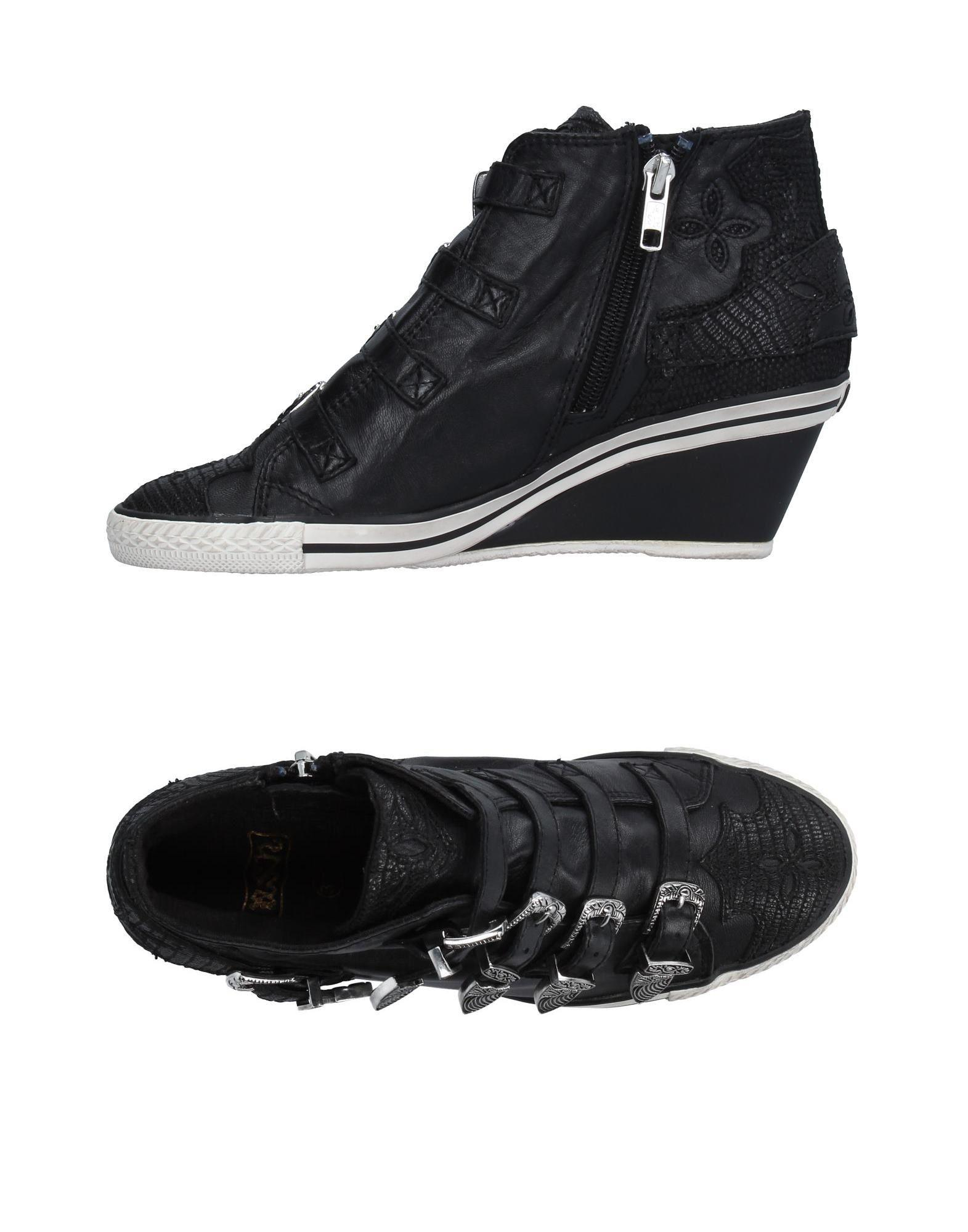 ash high tops sneakers in black lyst. Black Bedroom Furniture Sets. Home Design Ideas
