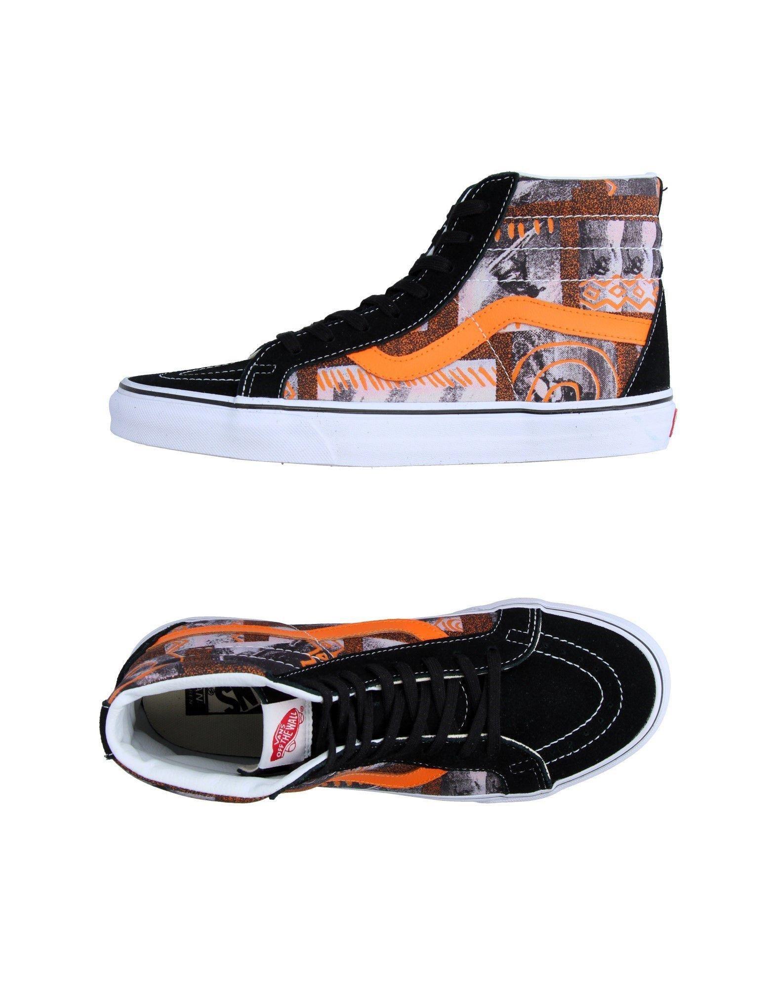 vans hightops amp sneakers in black for men lyst