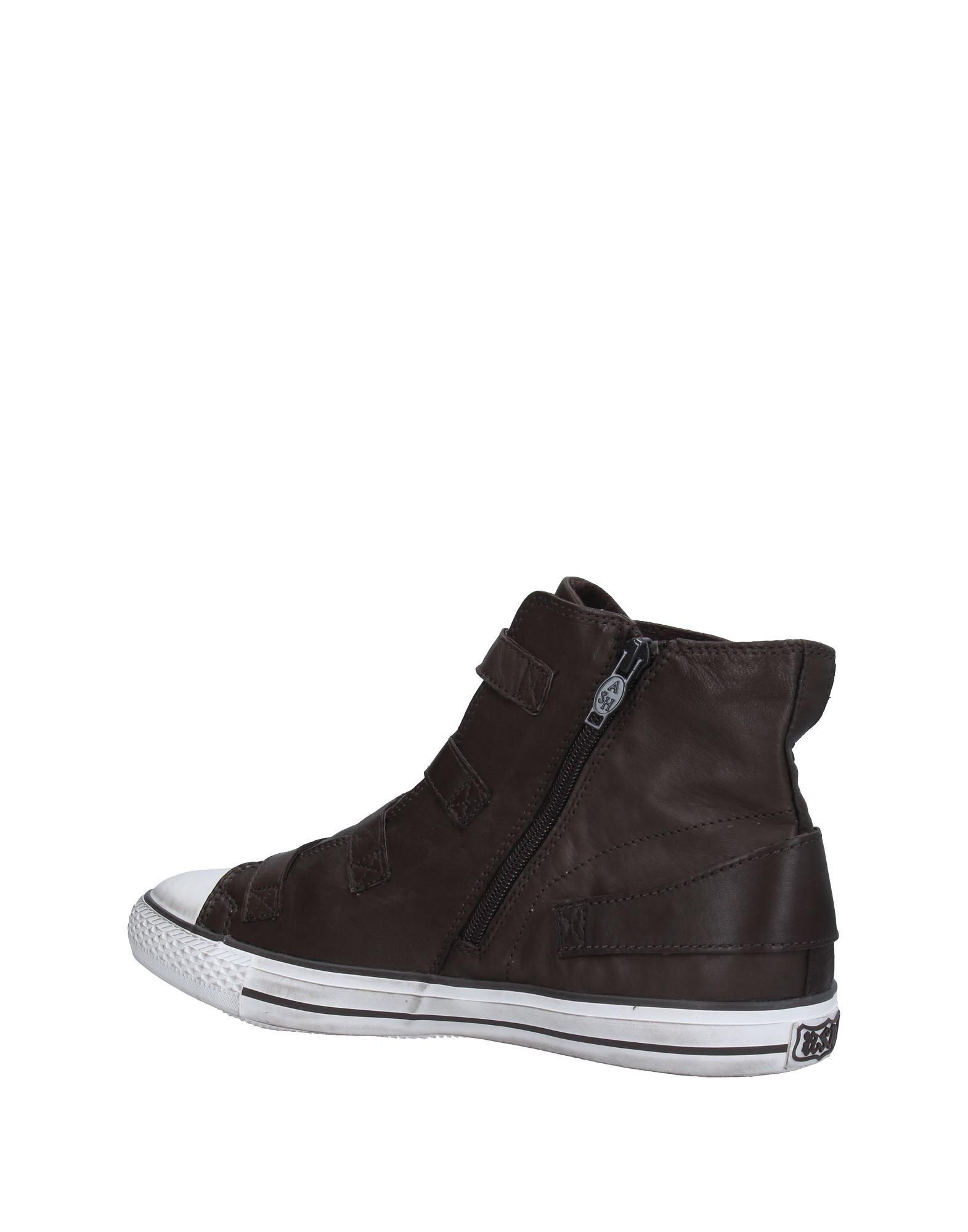 ash high tops sneakers in brown lyst. Black Bedroom Furniture Sets. Home Design Ideas