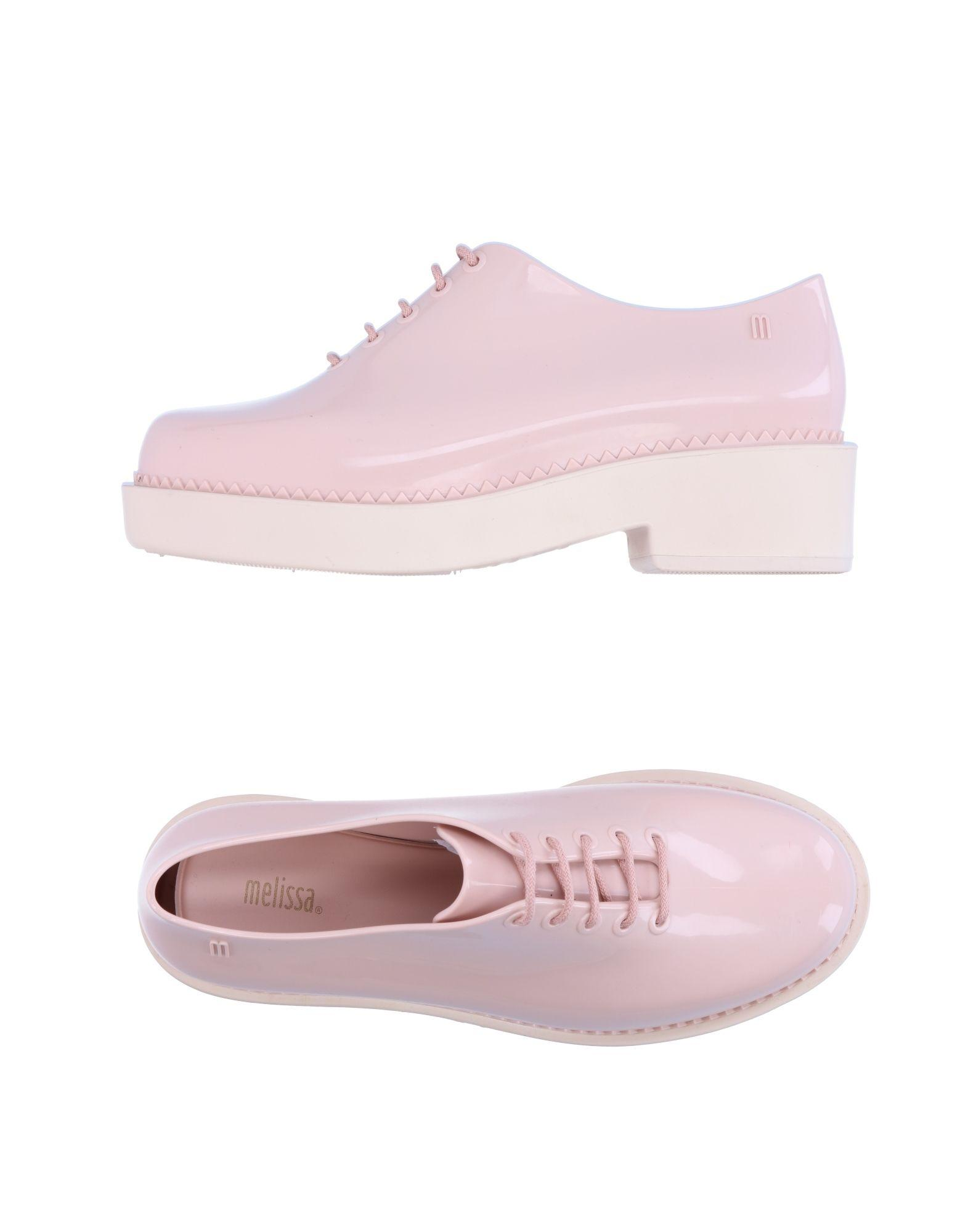 lace up shoe in pink lyst