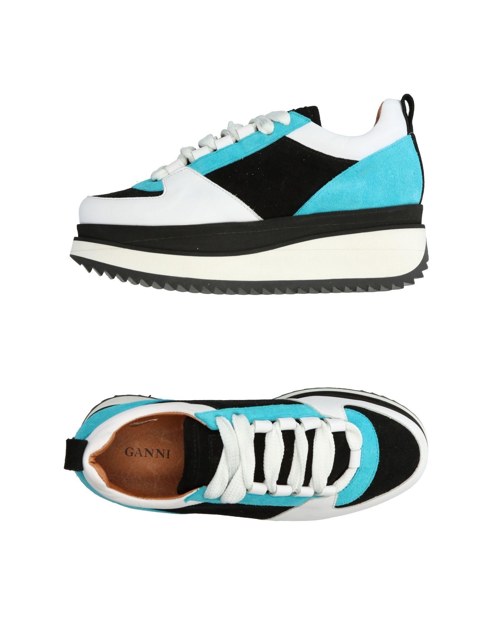 0e200677f772 Lyst - Ganni Low-tops   Sneakers in Black
