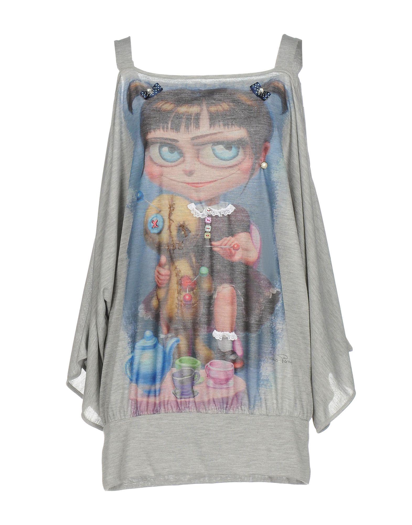 Lyst Mariagrazia Panizzi T Shirt In Gray