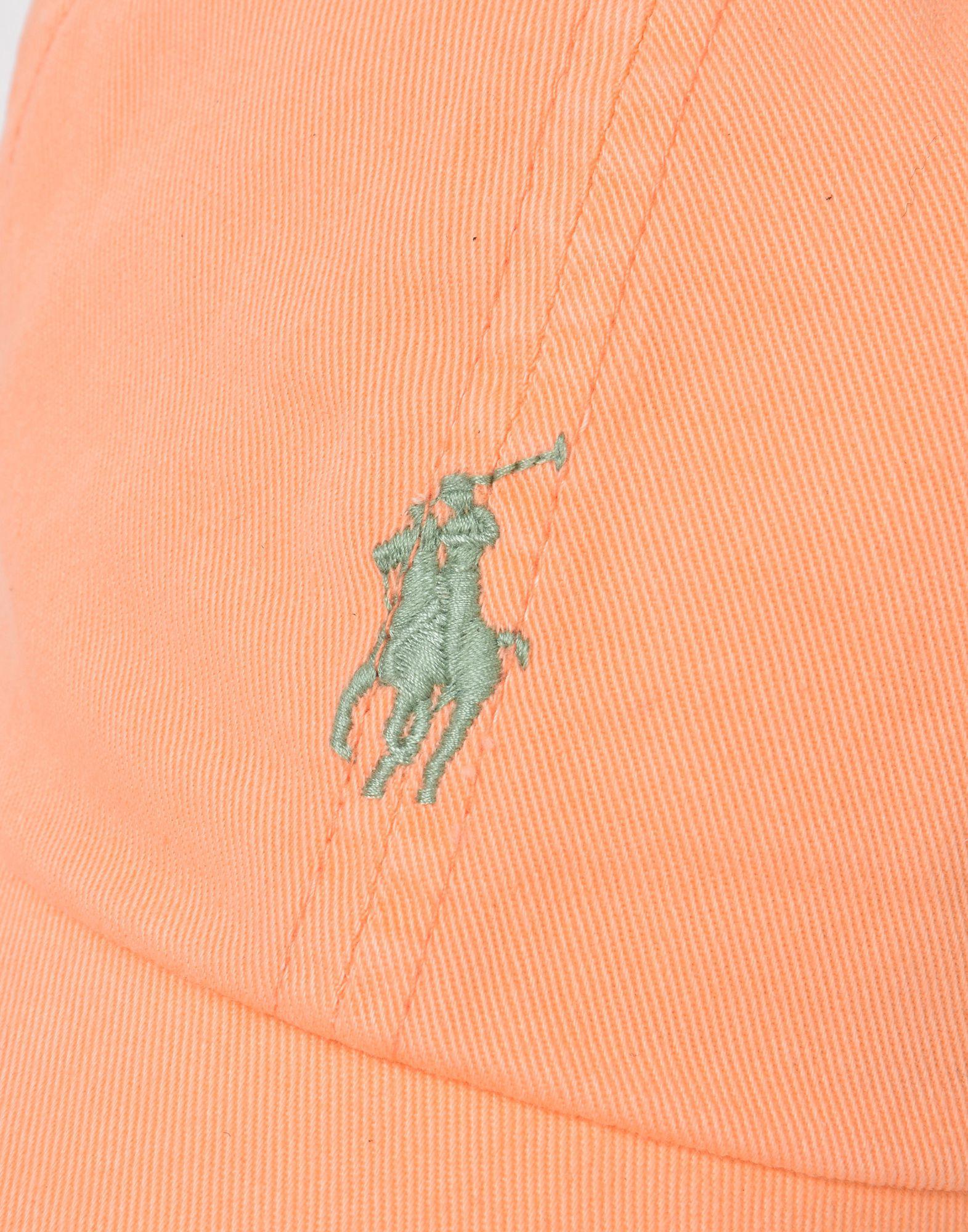 4991b29a675 Lyst - Chapeau Polo Ralph Lauren pour homme en coloris Orange