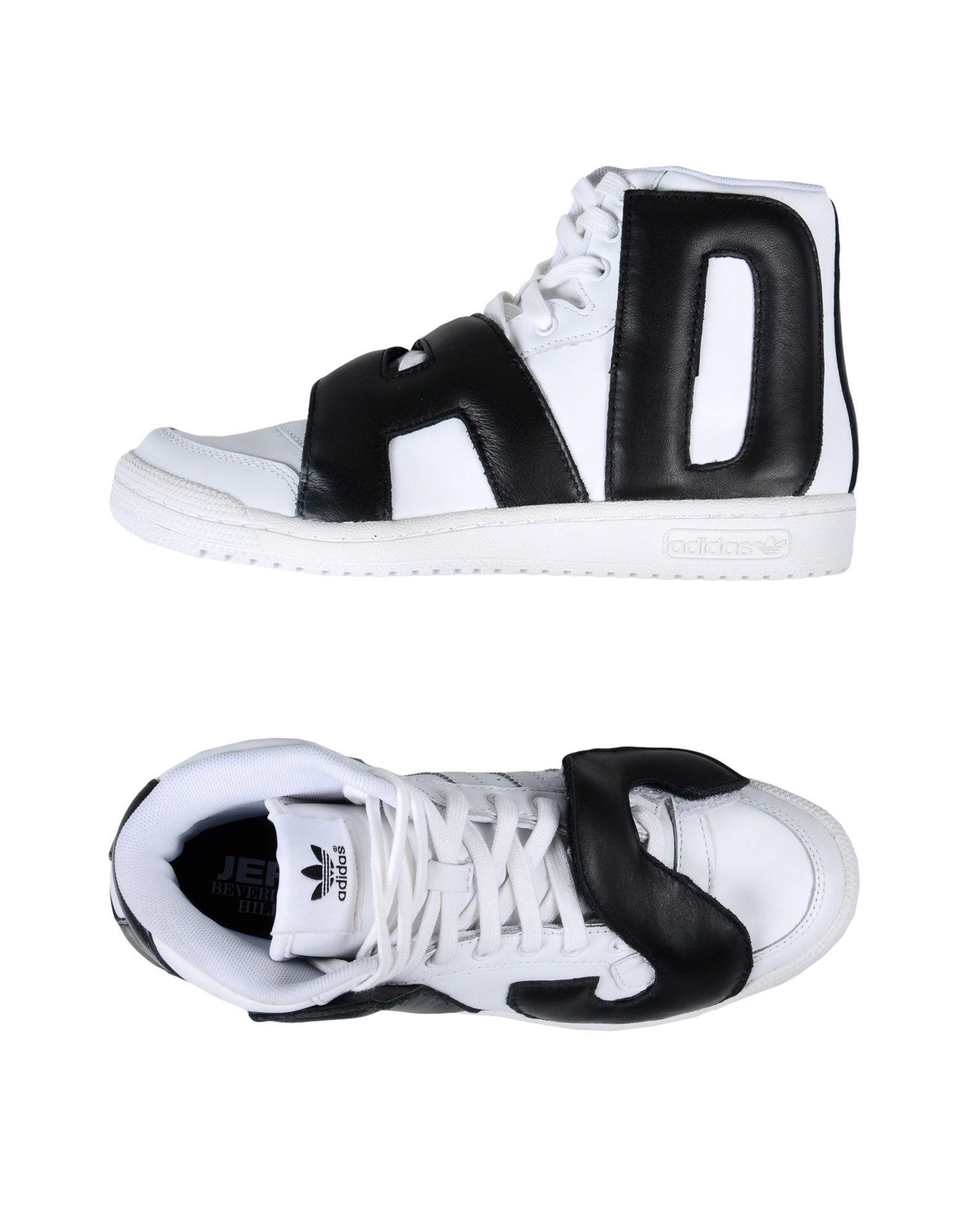 7654867de957 Lyst - Jeremy Scott For Adidas High-tops   Sneakers in White for Men
