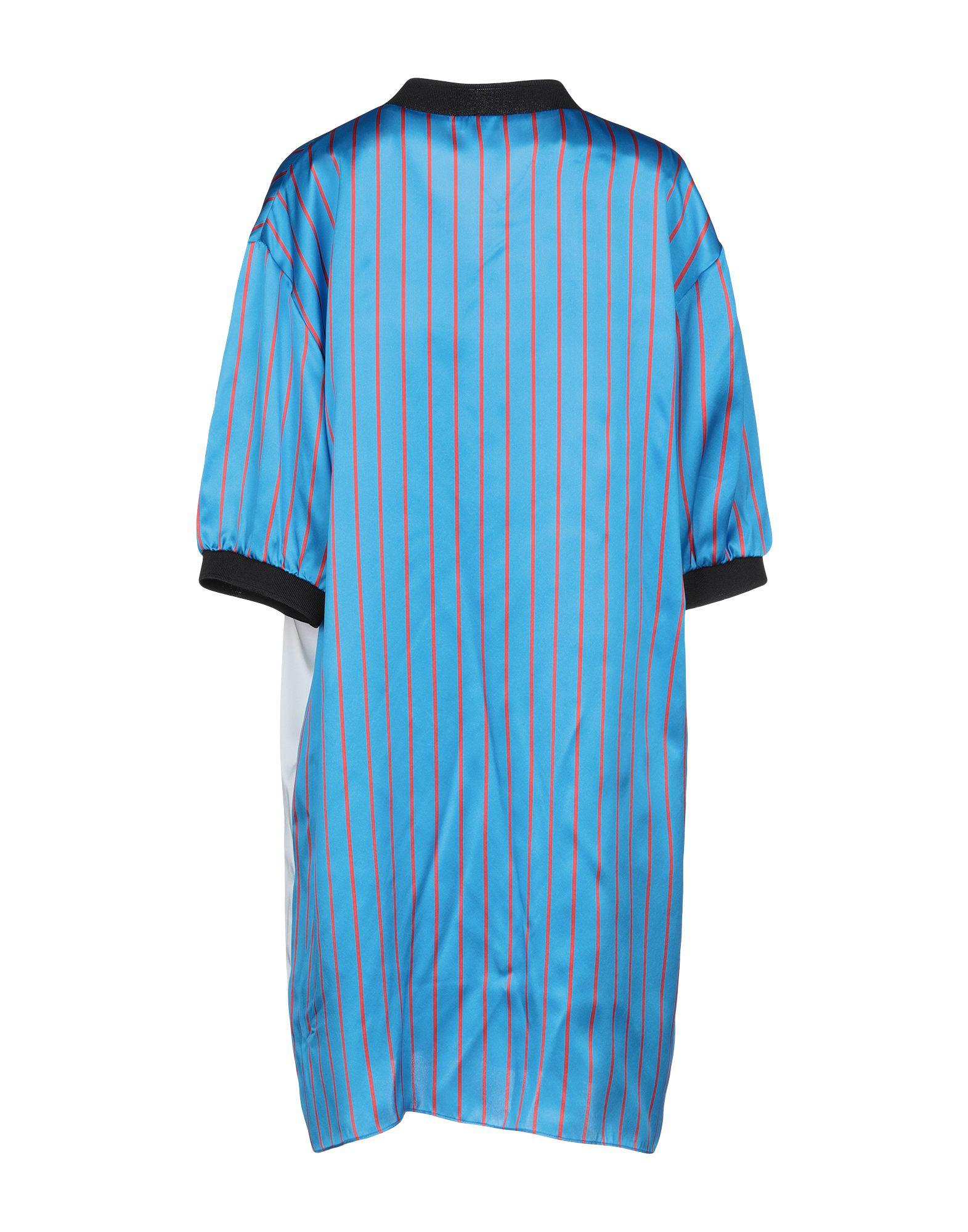 09450bc5 ... KENZO - Blue Short Dress - Lyst. Visit YOOX. Tap to visit site