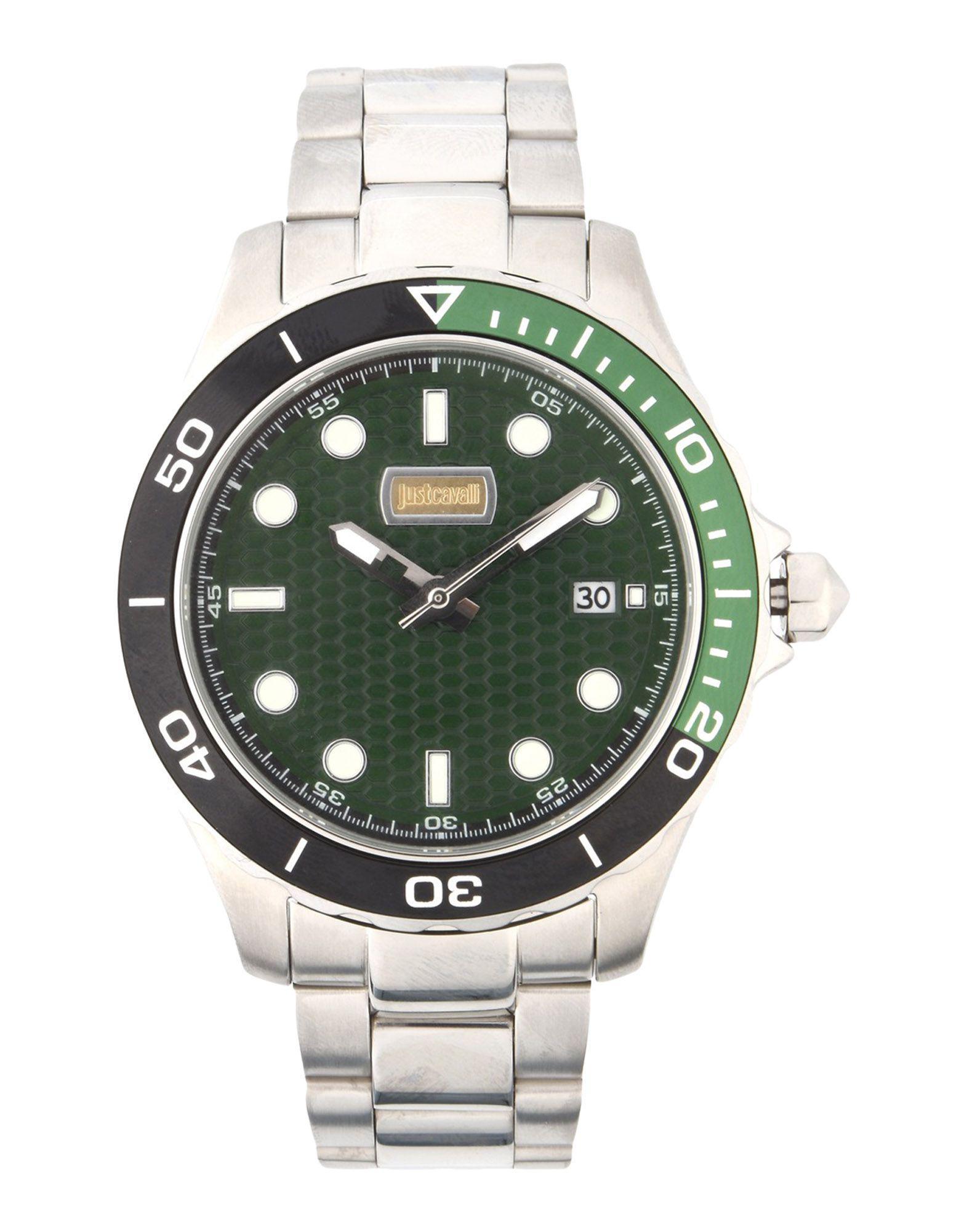 7ccd8e4c21aa Reloj de pulsera Just Cavalli de hombre de color Verde - Lyst