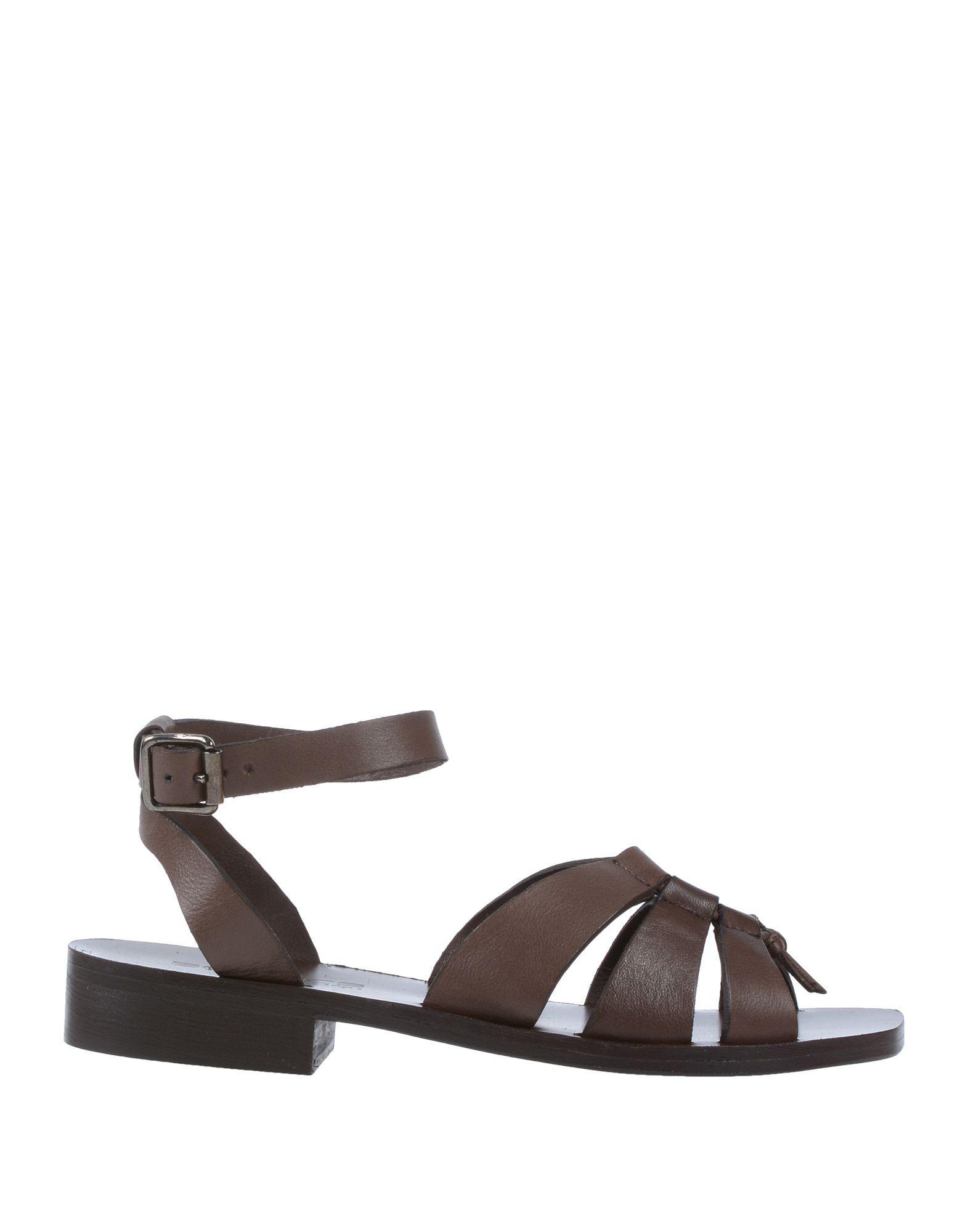 687674ab7a96 Boemos Sandals in Brown - Lyst