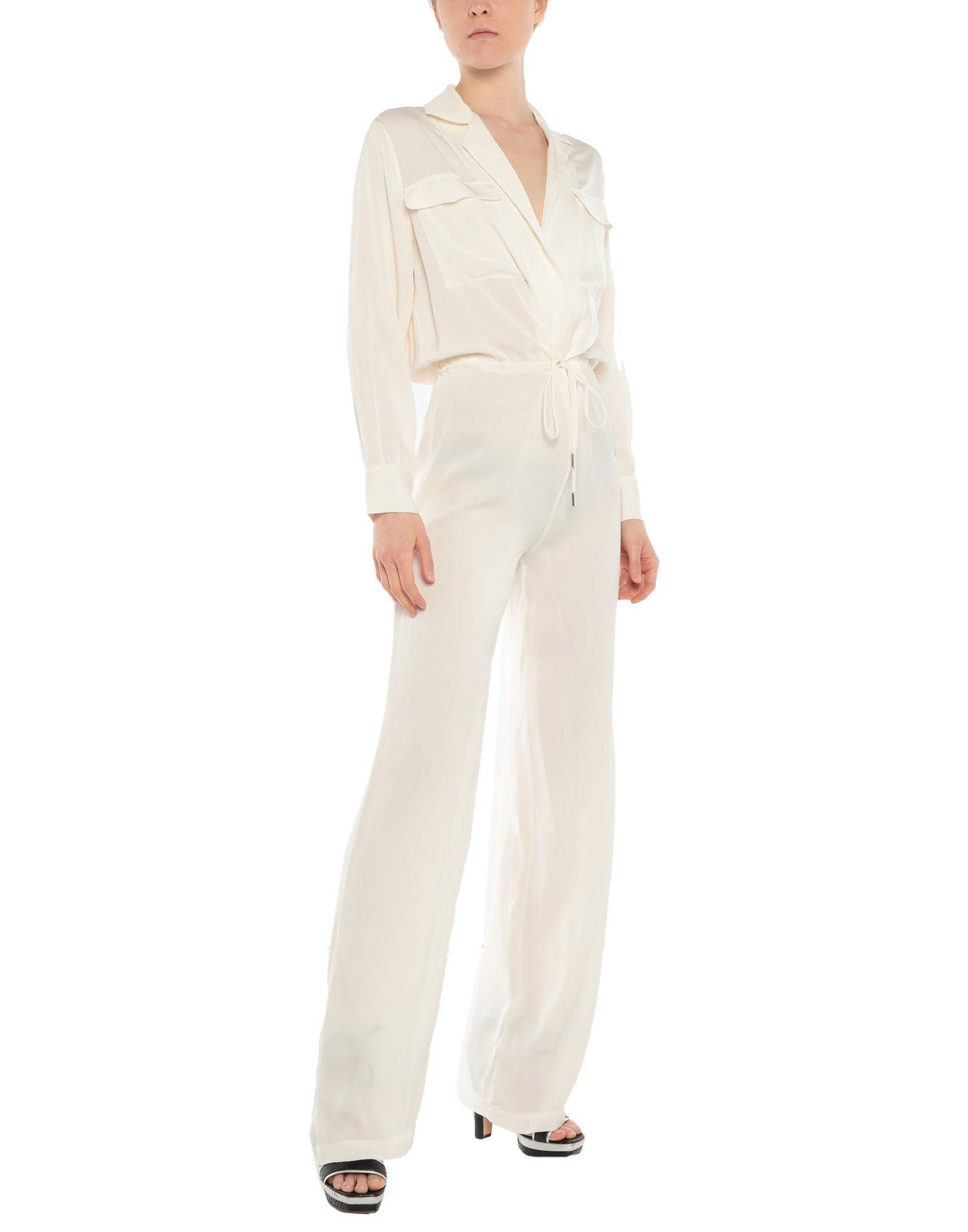 6378c49ecf5 Lyst - Ermanno Scervino Jumpsuit in White
