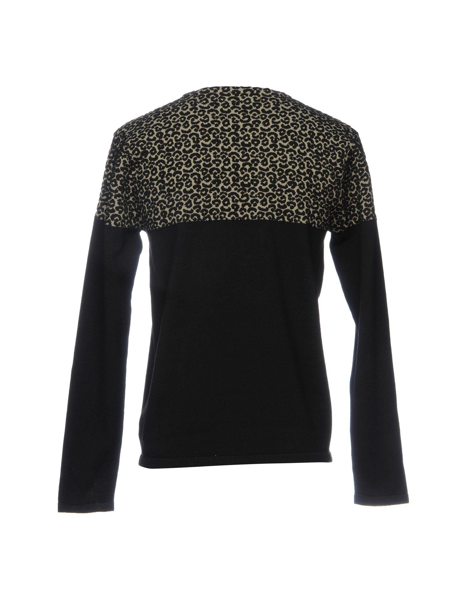 Solid Sweater in Black for Men | Lyst