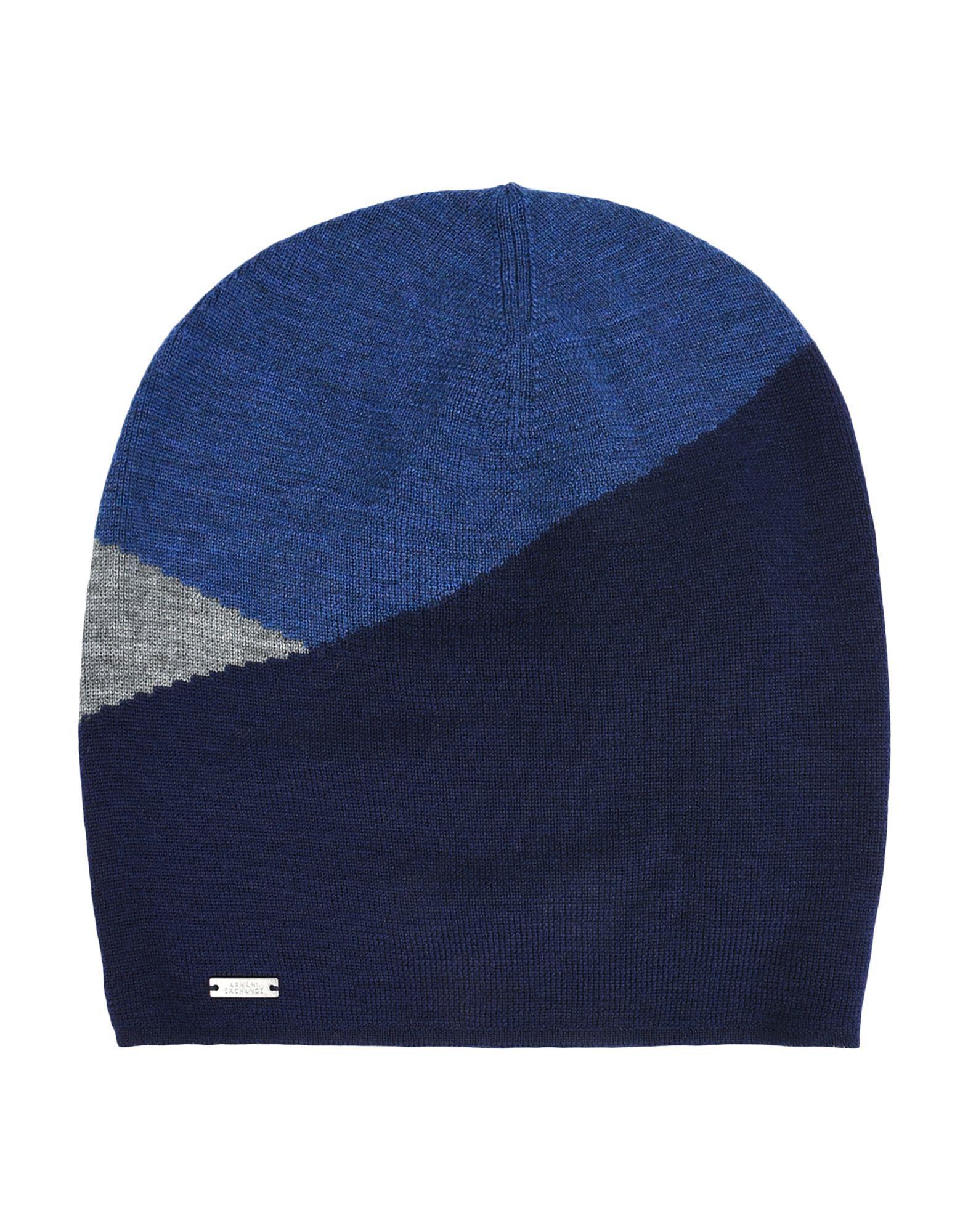 6e2cd3caf42 Lyst - Armani Exchange Hats in Blue for Men