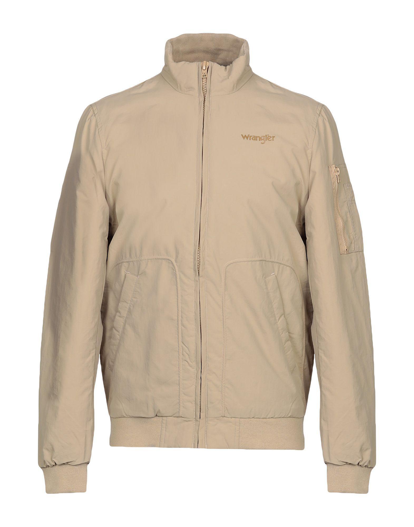 8f4dd1e11a19 Lyst - Wrangler Jacket in Natural for Men