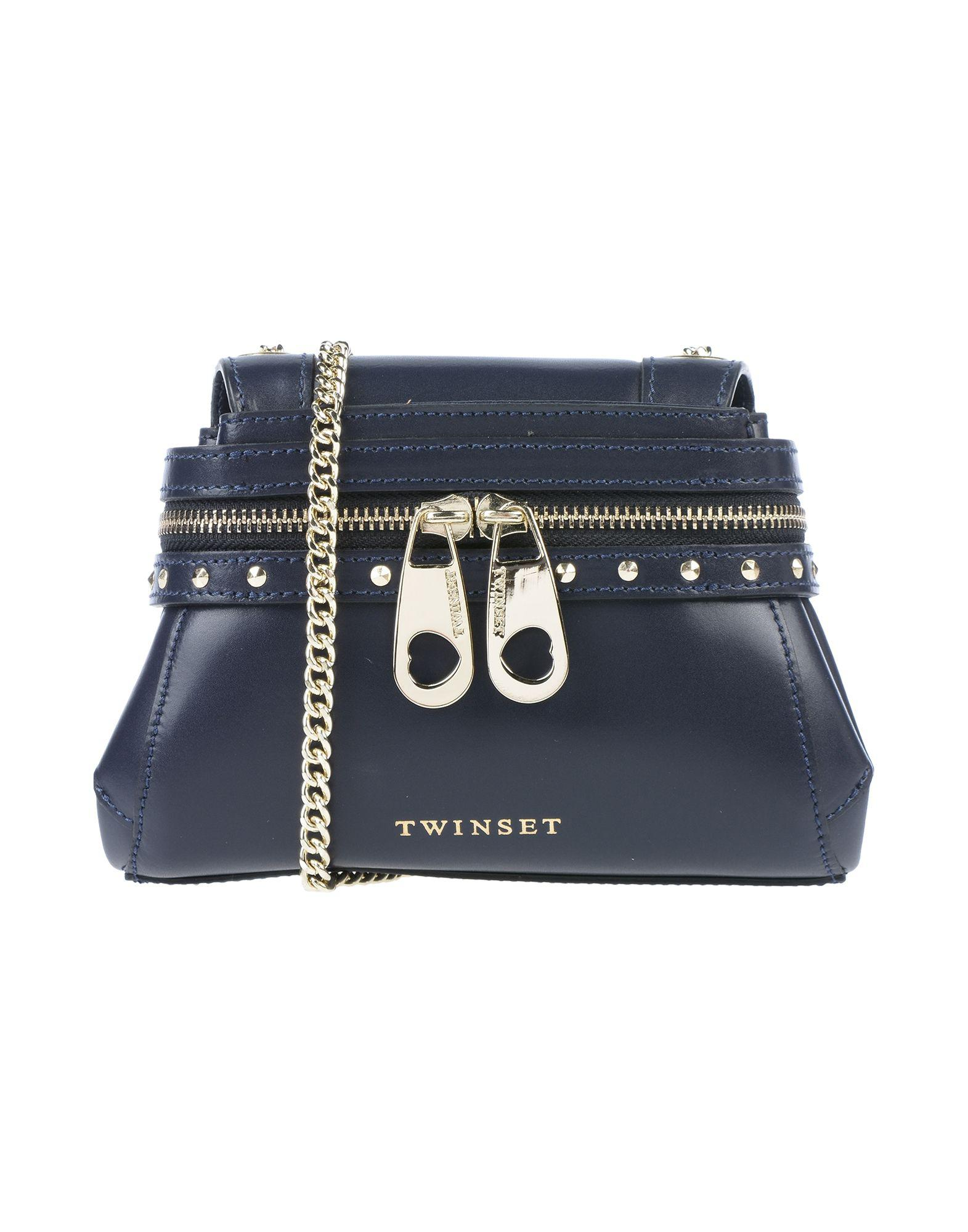 Blue Twin Cross Bag In Set Lyst Body ffwRr