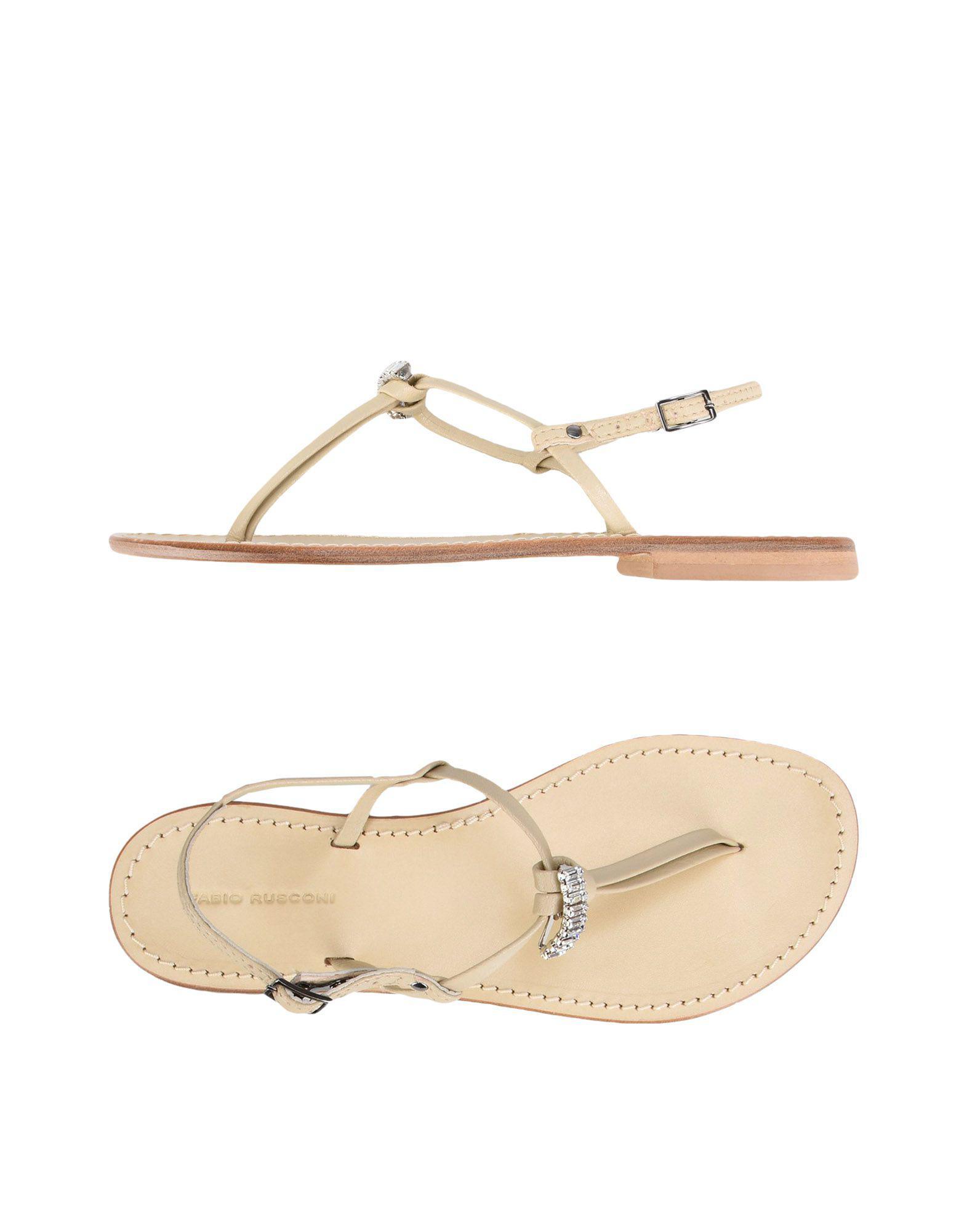 FOOTWEAR - Toe post sandals Fabio Rusconi wG22Bz