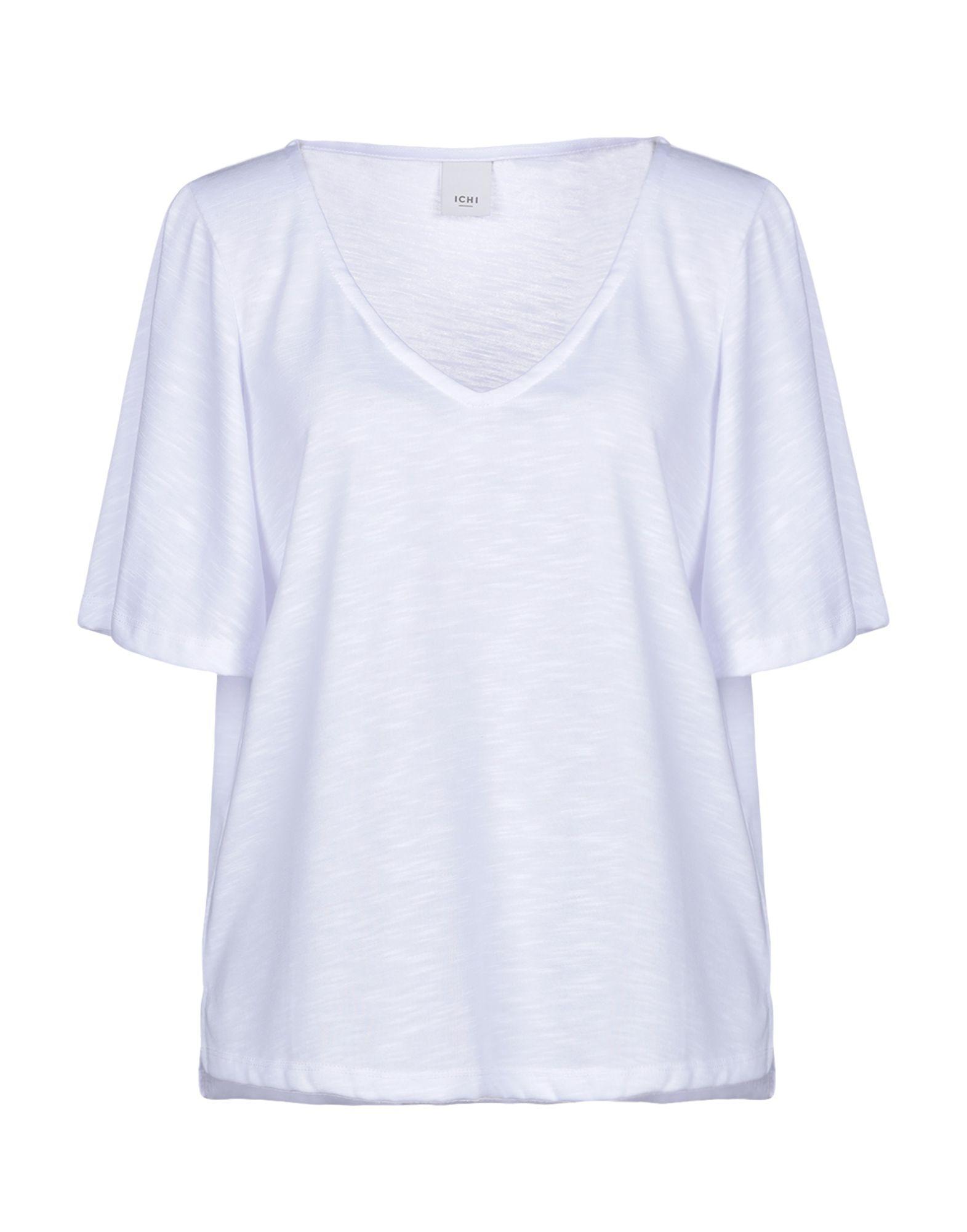 9da74e88c7f8 Ichi - White T-shirt - Lyst. View fullscreen