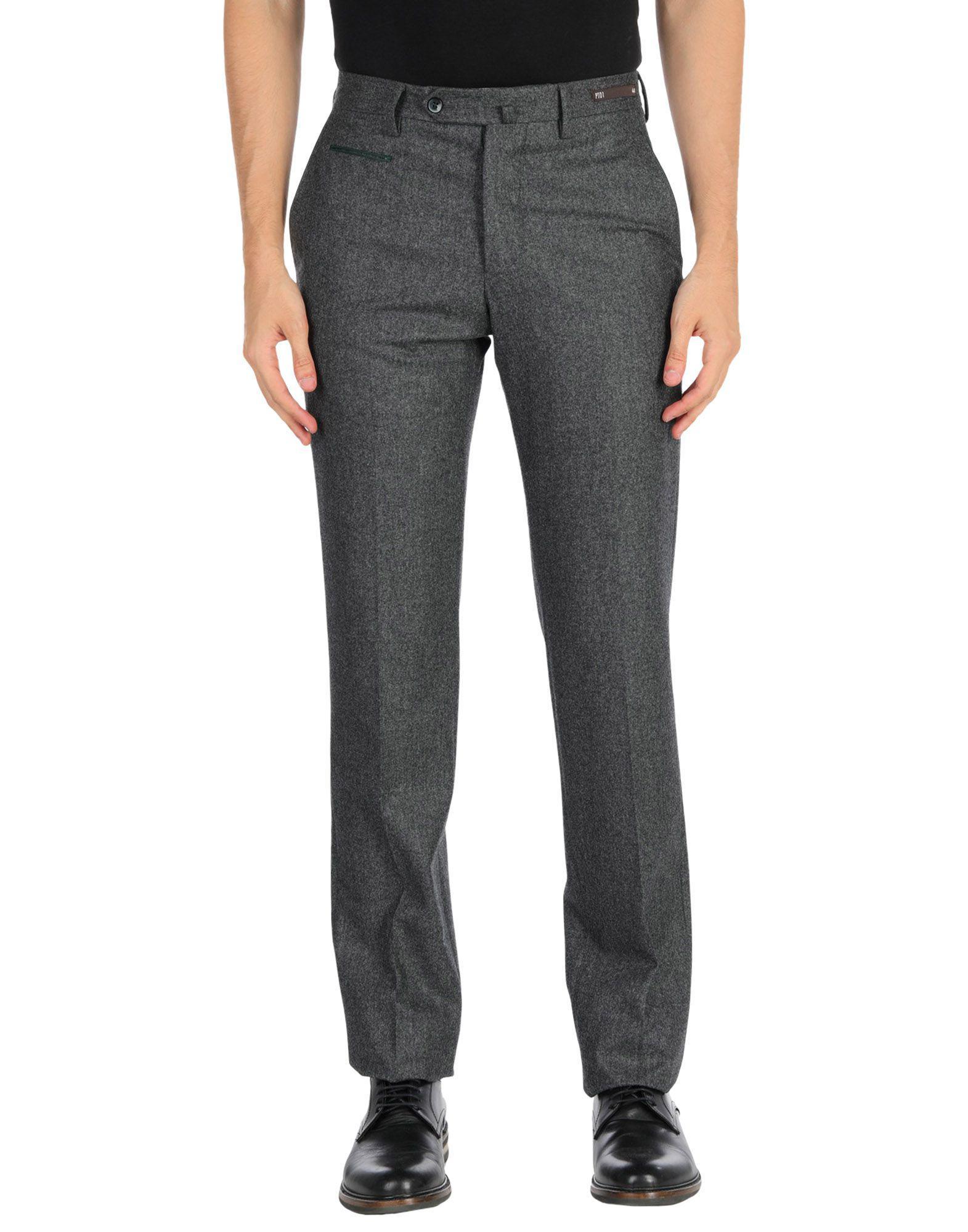 c3fbbd3c1ca PT01 - Gray Casual Pants for Men - Lyst. View fullscreen