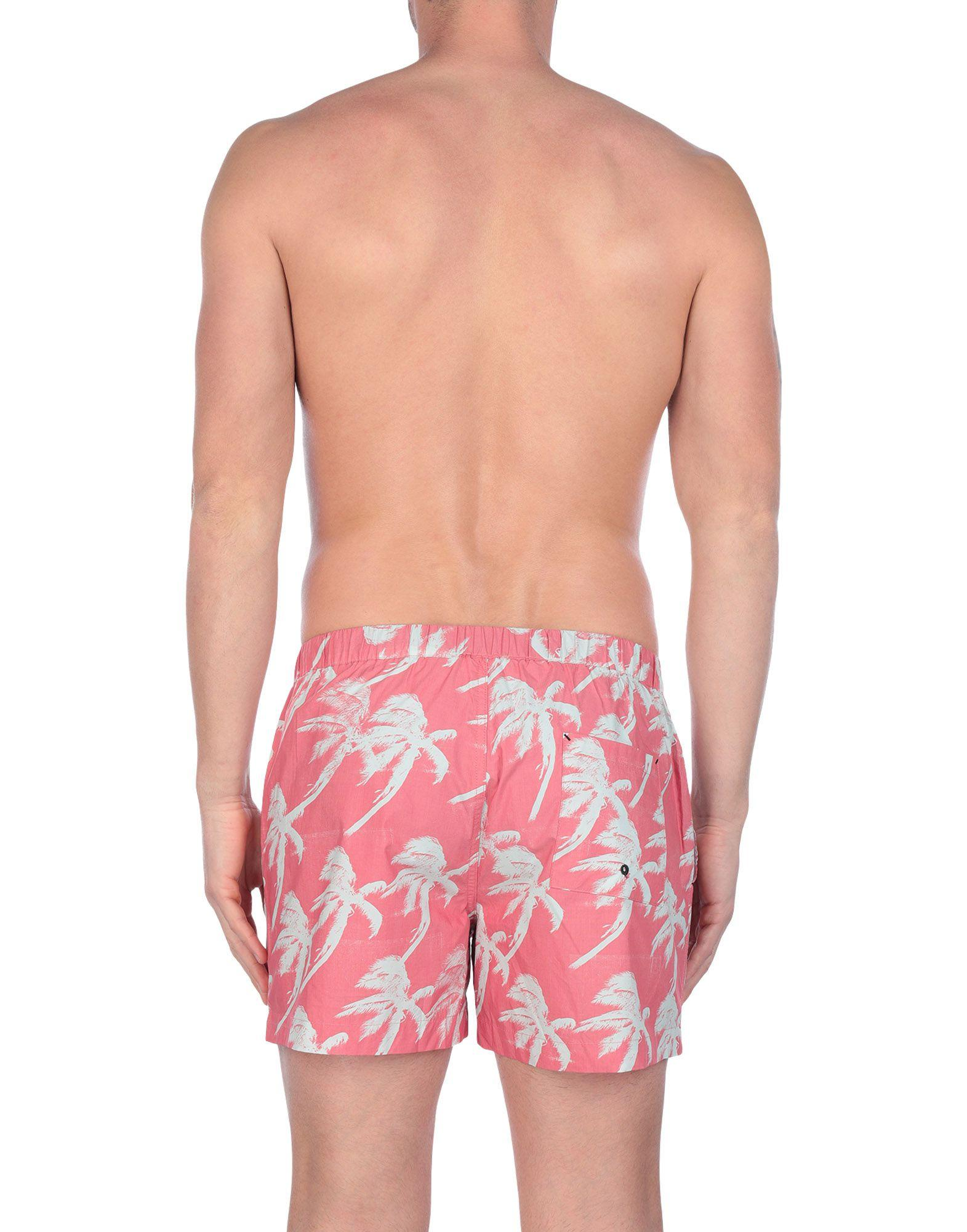a99b278c5c450 DOUBLE RAINBOUU Swimming Trunks in Pink for Men - Lyst
