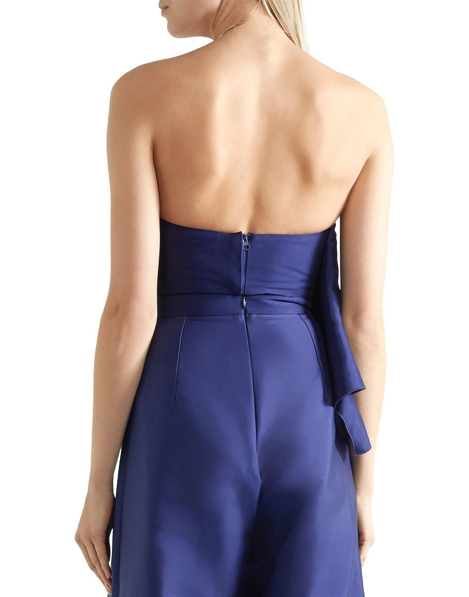 c60775eb3a Lyst - Solace London Tube Top in Blue