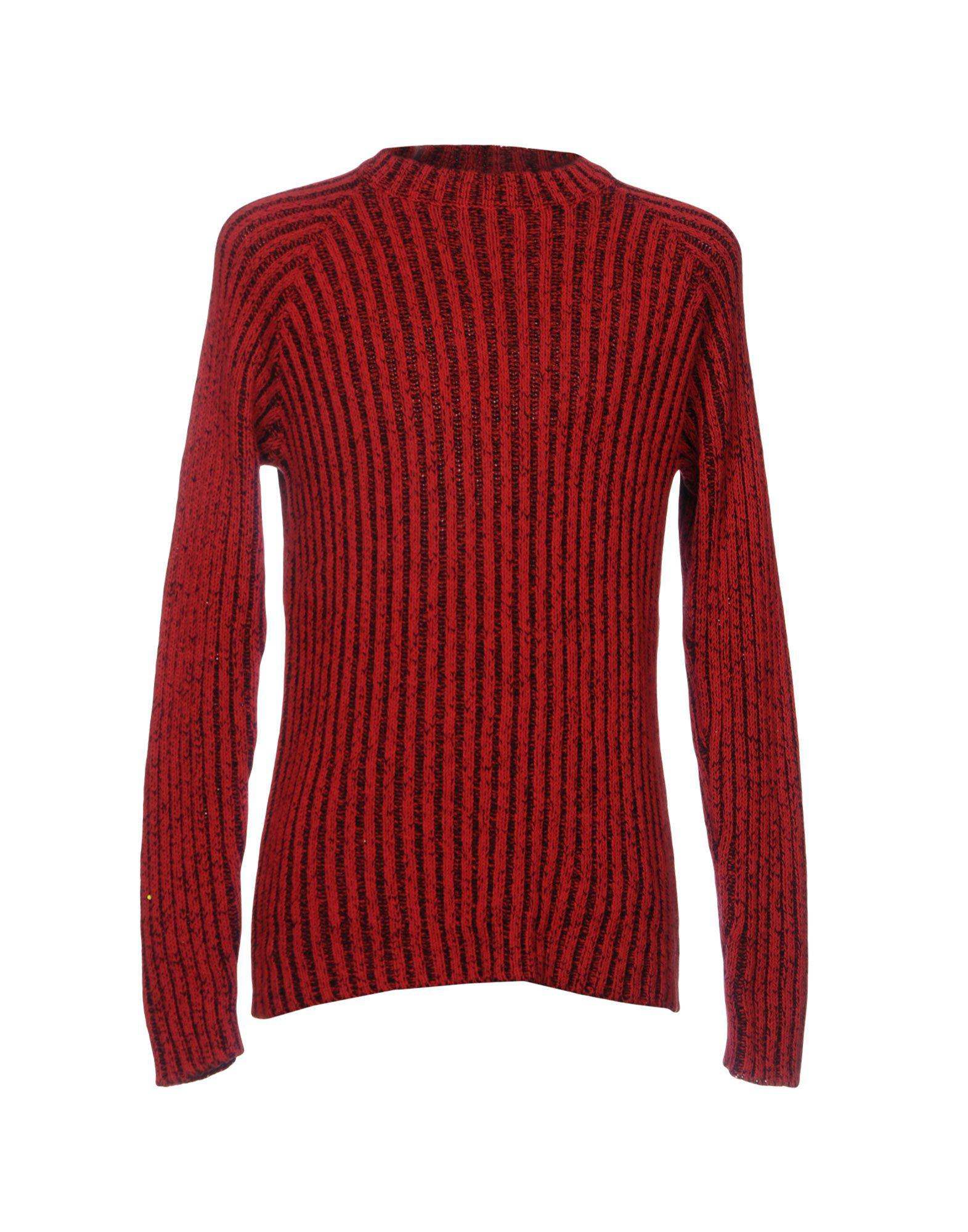 Cheap monday Sweater in Red for Men | Lyst