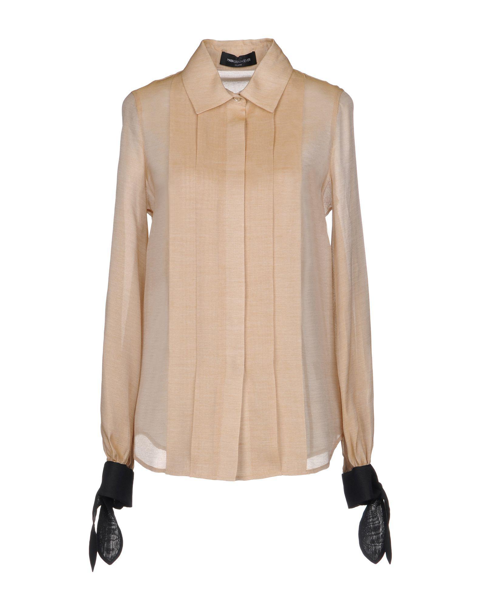 SHIRTS - Shirts Maria Grazia Severi Cheap Manchester vYry4