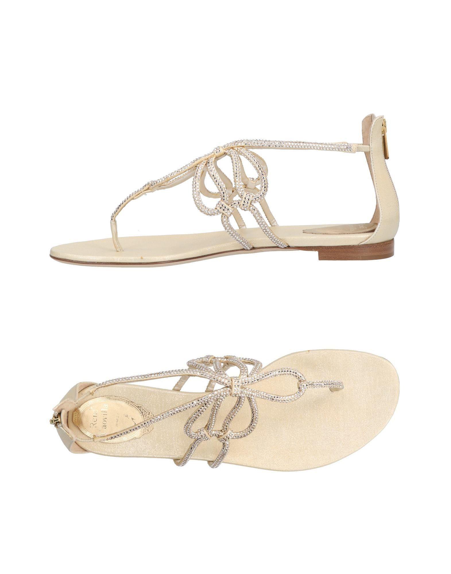 Chaussures - Sandales Post Orteils Rene De Caovilla dkN3YyAb