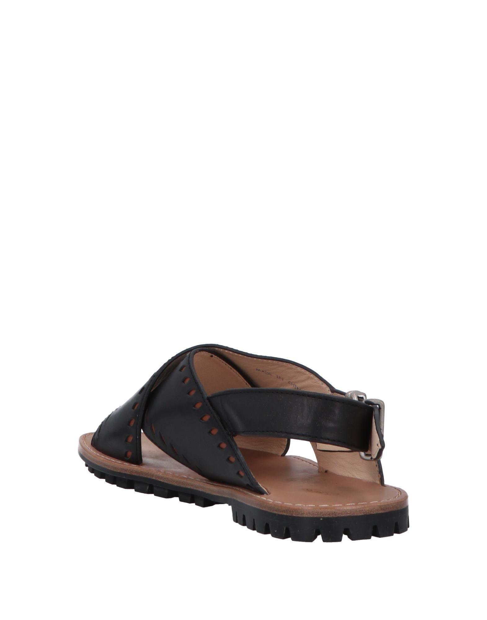 f4e4252f7c09 Lyst - Jil Sander Navy Sandals in Black