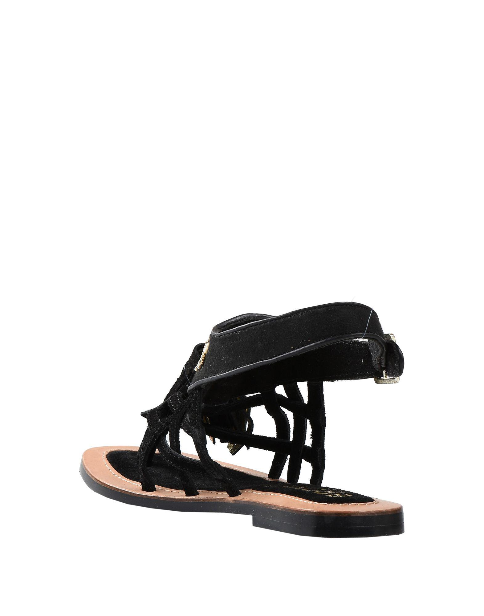 e0ea75bac68 Bronx Toe Post Sandal in Black - Lyst