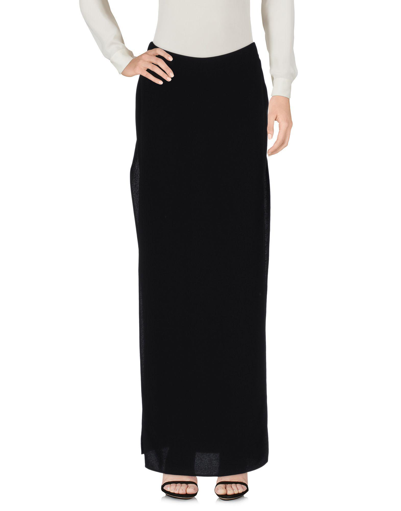 4c6c87e322 Gareth Pugh Long Skirt in Black - Lyst