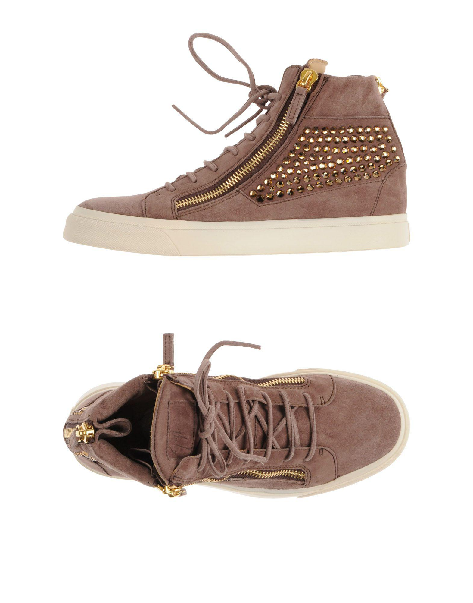 71dae2103bf Lyst - Giuseppe Zanotti High-tops   Sneakers in Brown for Men