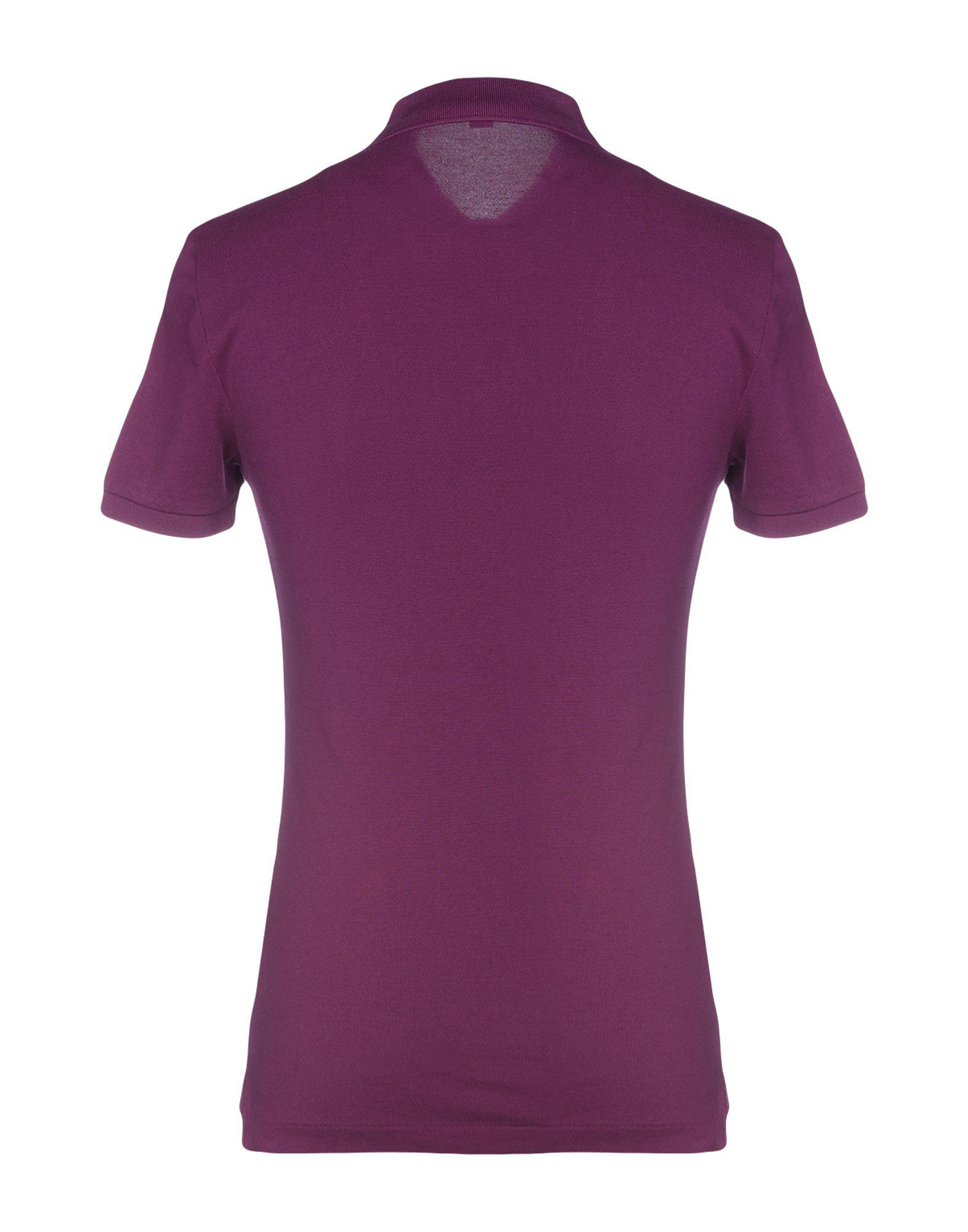 5f4ac277136b Lyst - Burberry Polo Shirt in Purple for Men