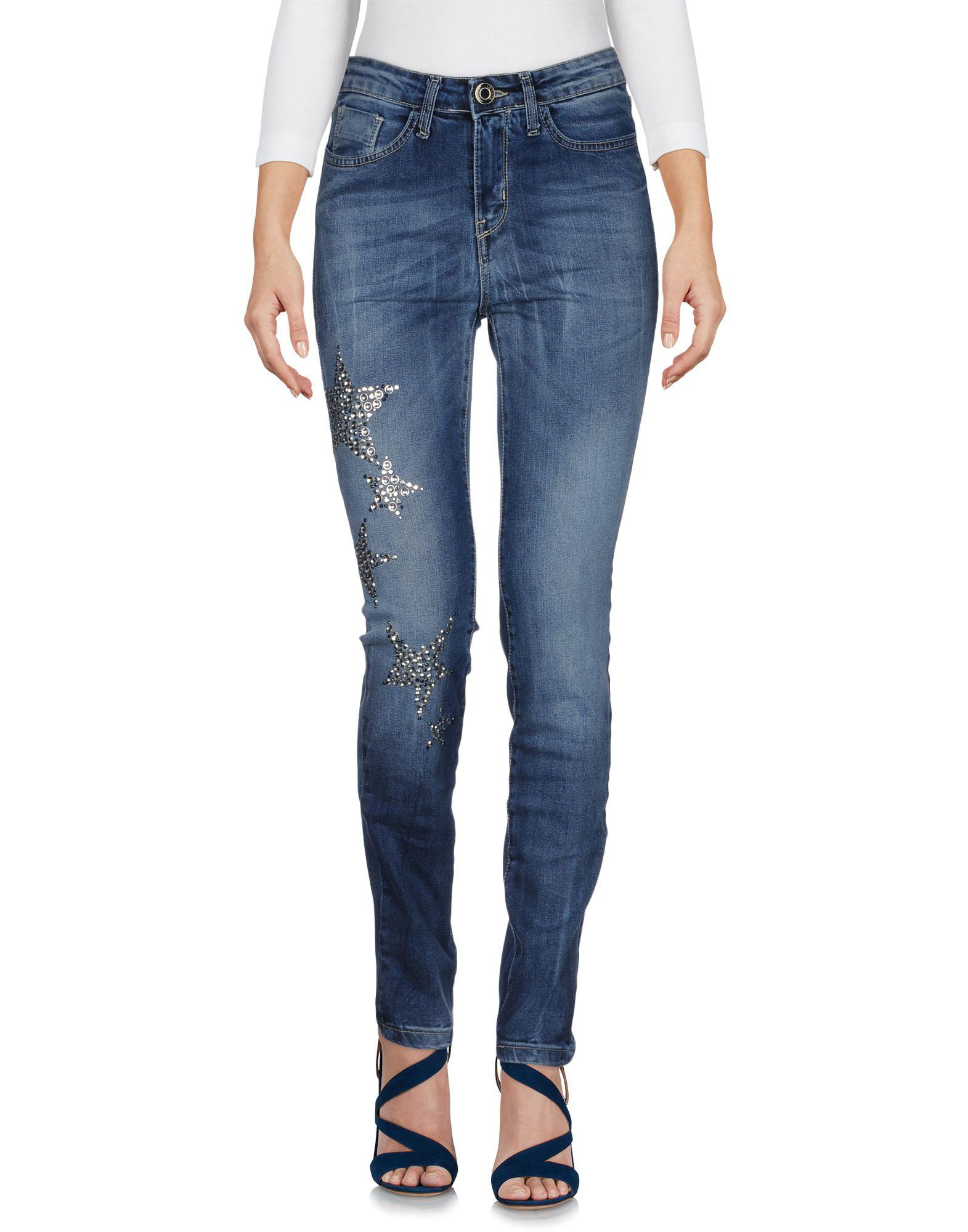 DENIM - Denim trousers Le Fate Sale Brand New Unisex Outlet Best Prices Clearance Store Cheap Price PEmJVemt4r