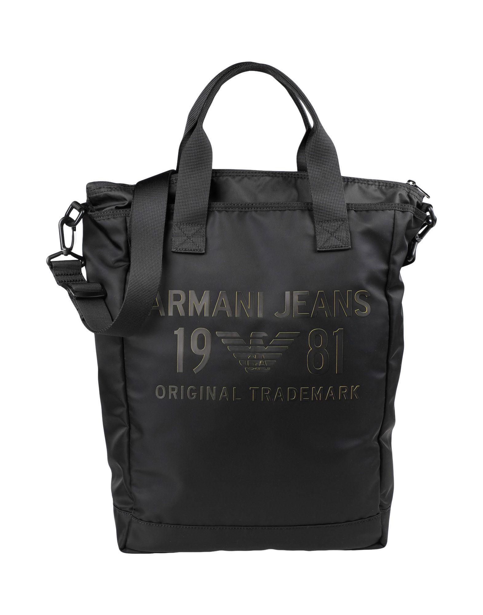 79e70f95a9a Lyst - Armani Jeans Cross-body Bag in Black for Men