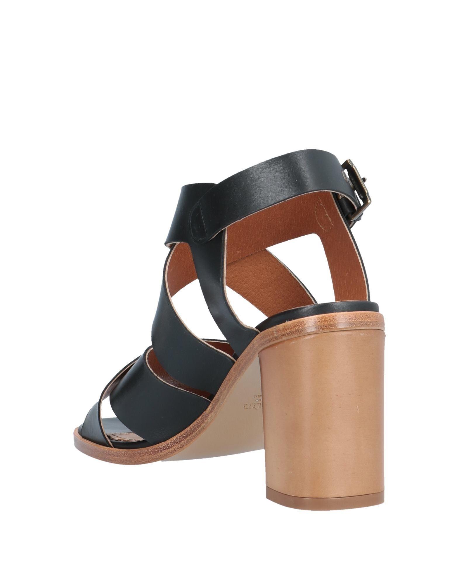In Black Sessun Lyst Sandals QBshrCtdx